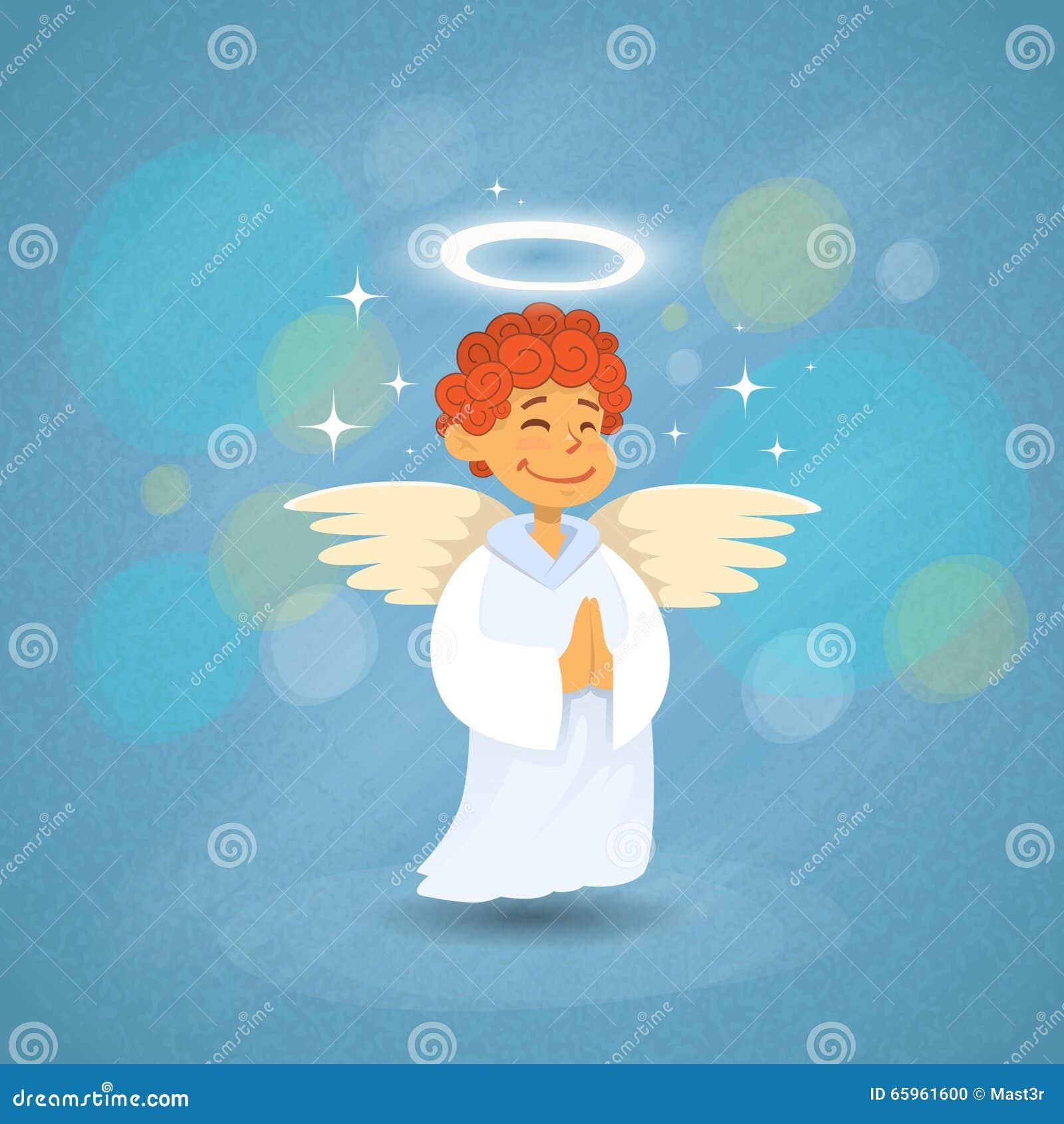 Angel Cupid Saint Valentine Holiday de la tarjeta del día de San Valentín