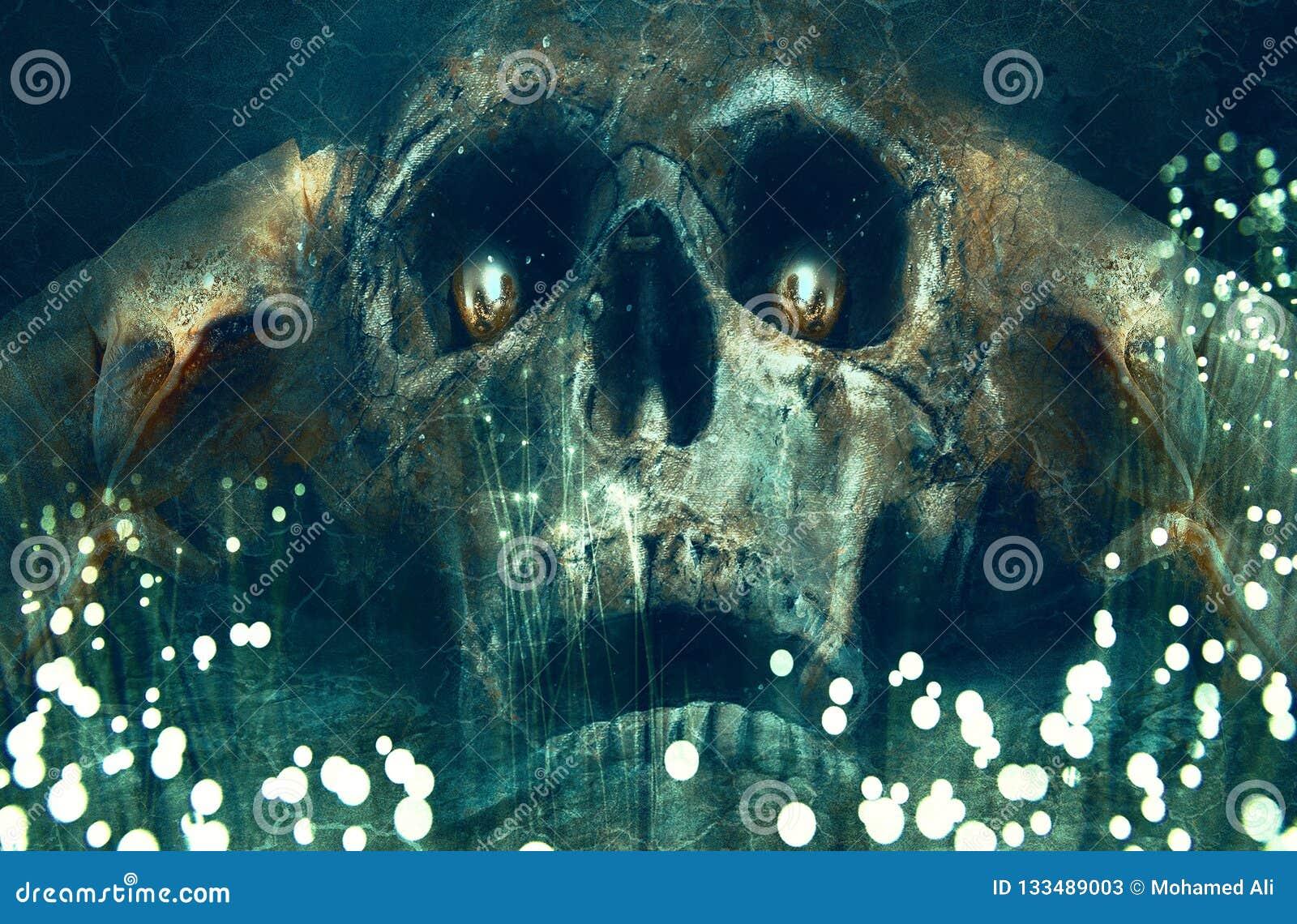 Angel Of Death Artwork Background artístico abstrato