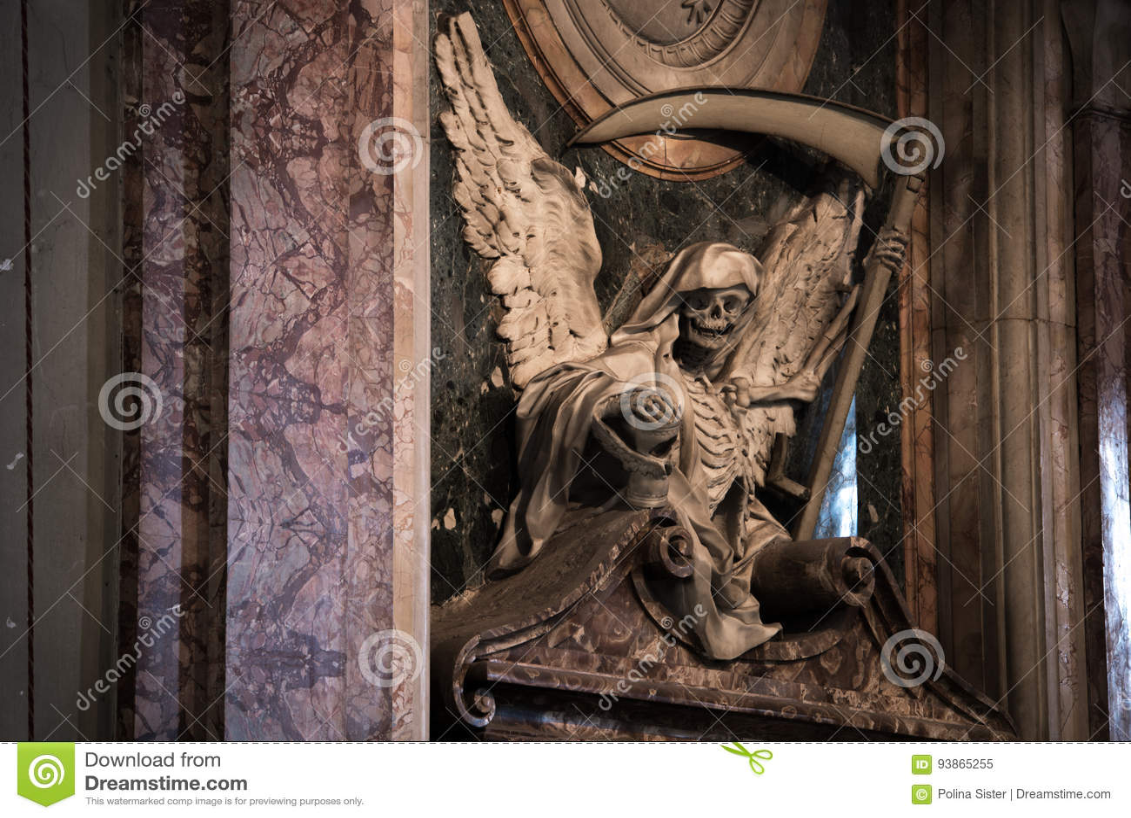 Angel of death stock image image of architecture cardinal royalty free stock photo buycottarizona Images