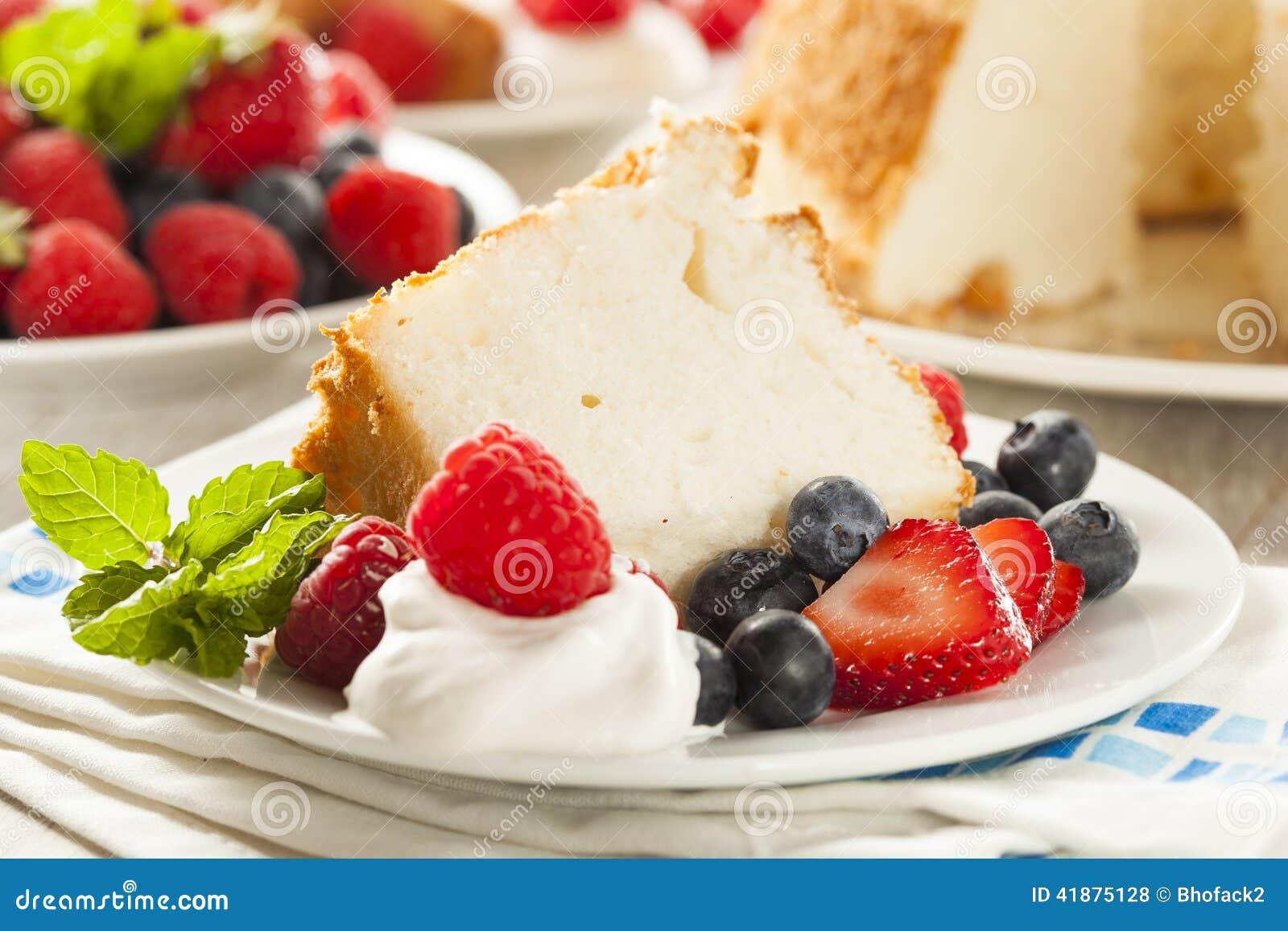 Angel Food Cake caseiro