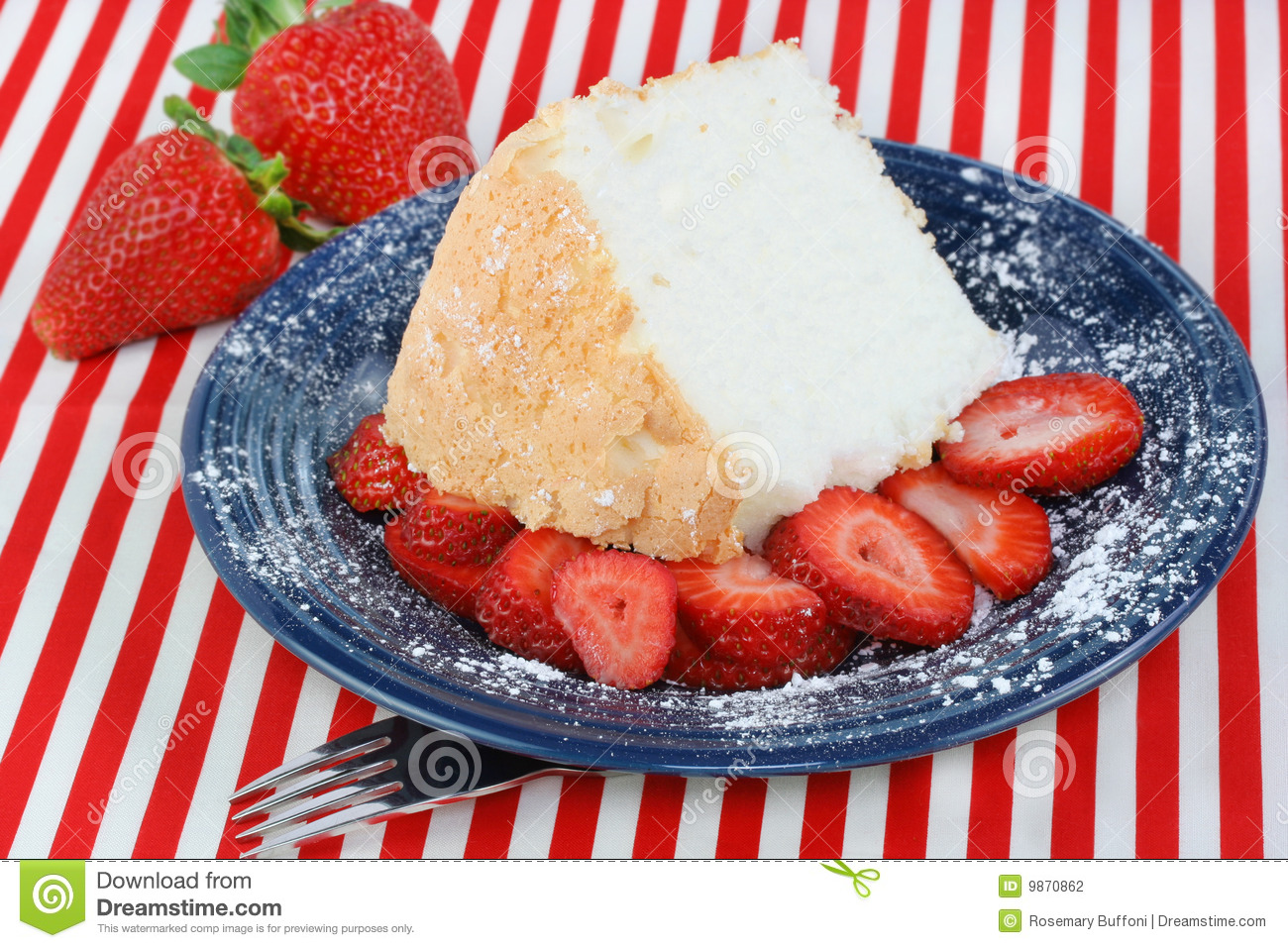 Raw Angel Food Cake