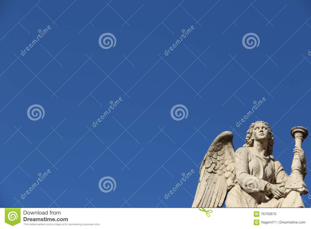 Angel in Rome