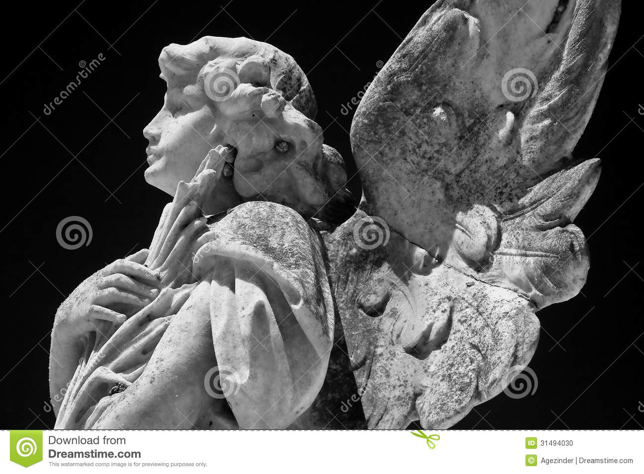 Angel Statue Stock Photo Image 31494030