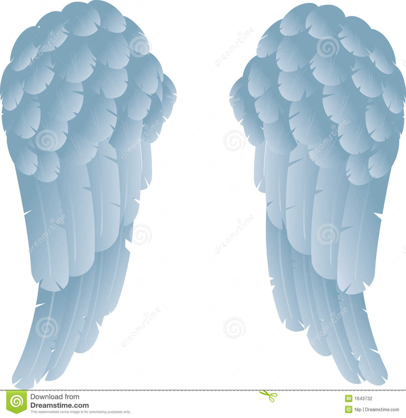 Angel Wings Stock Photography - Image: 1643732