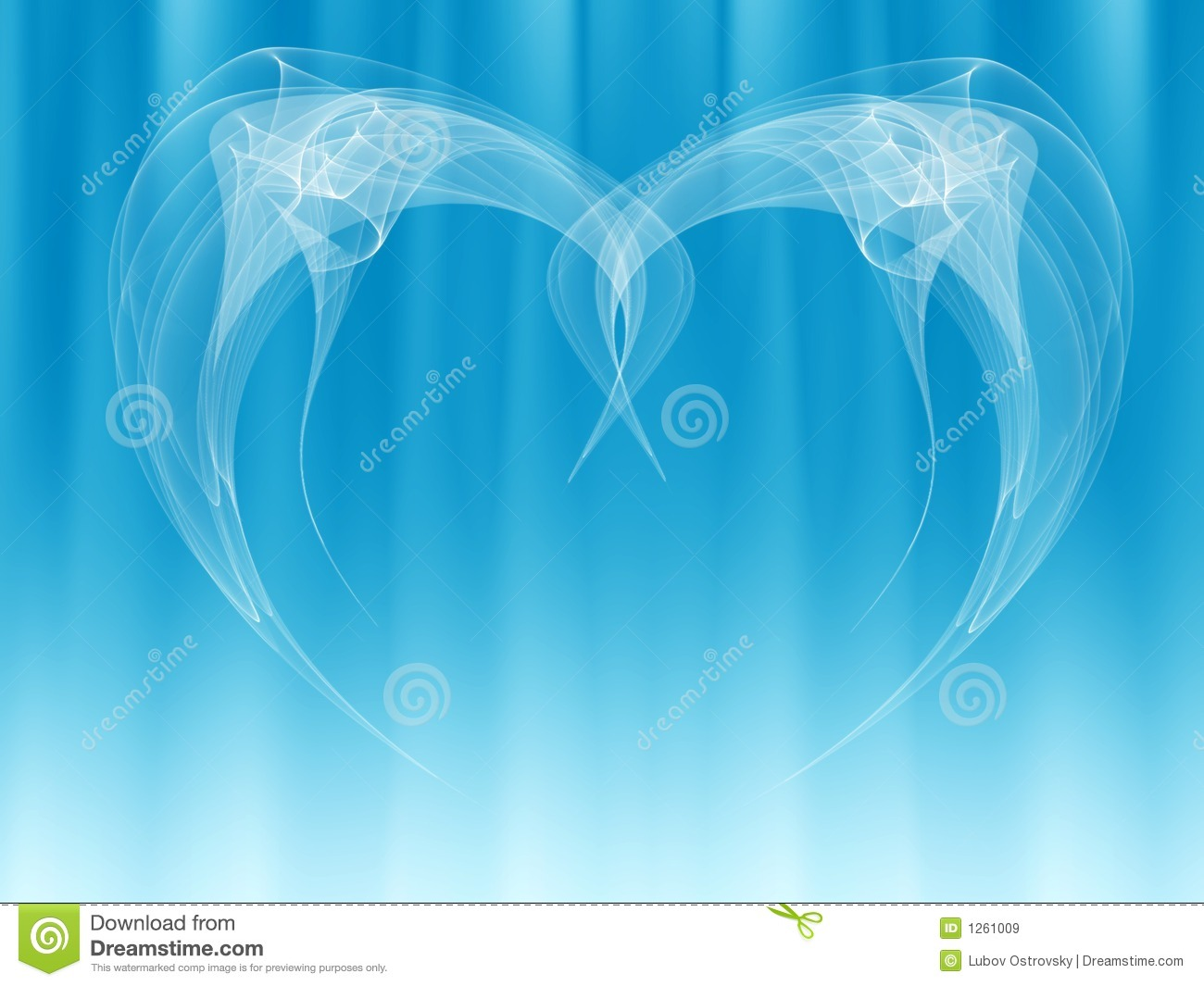 Angel Wings Abstract Royalty Free Stock Images - Image: 1261009