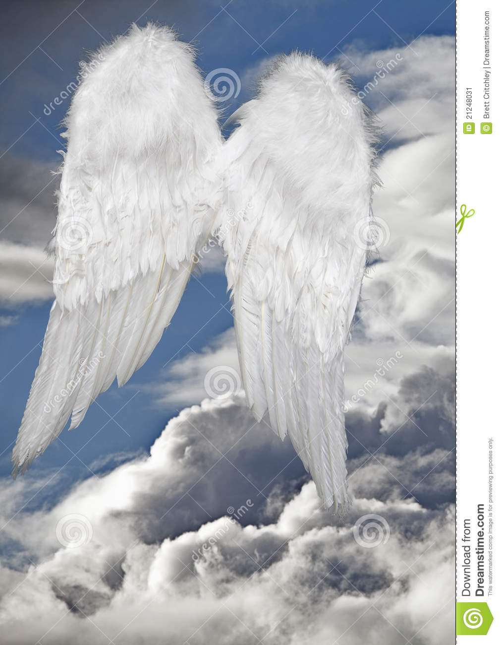 Angel Wings Heaven Stock Photos