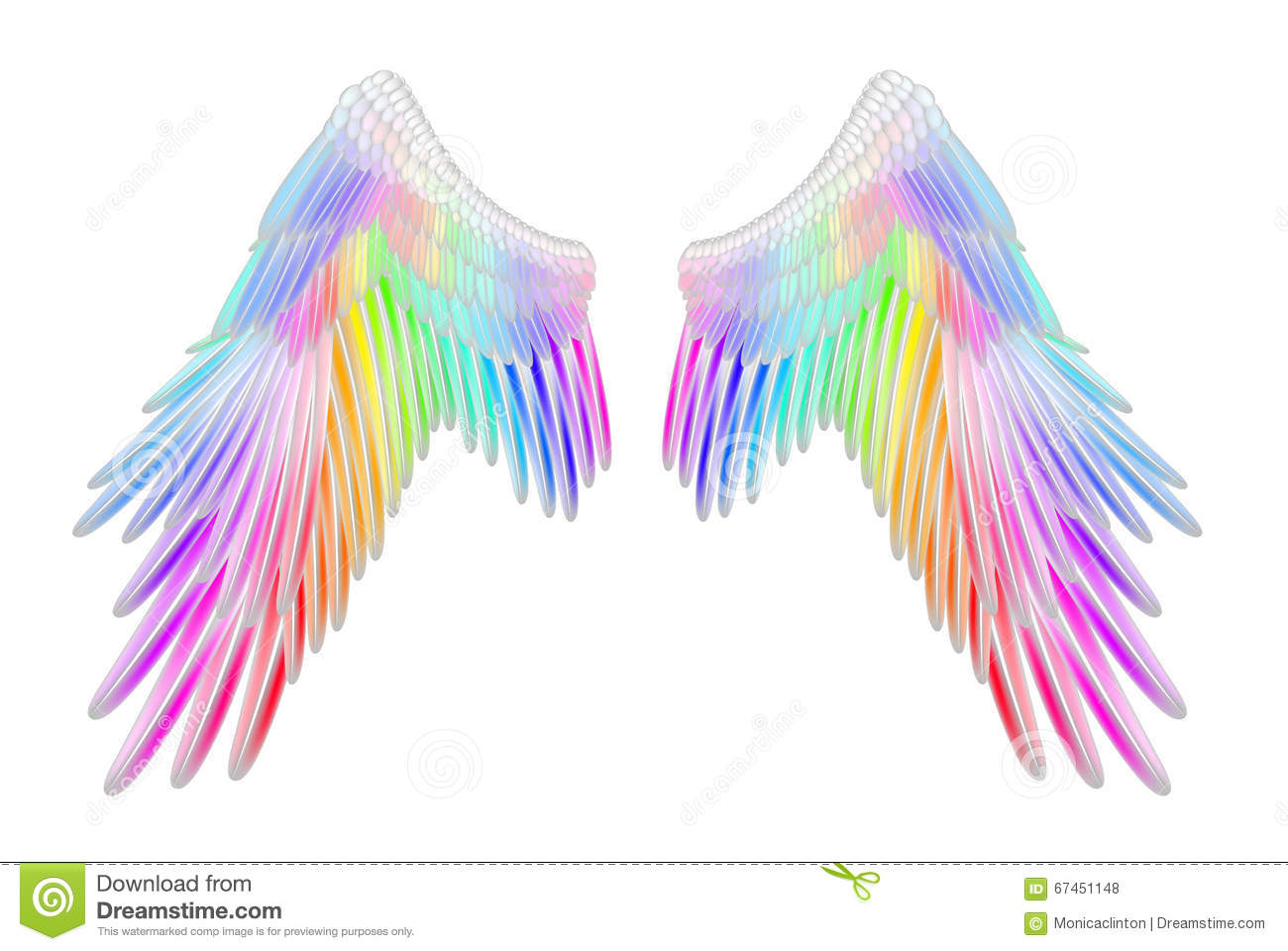 colorful angel wings images wwwimgkidcom the image