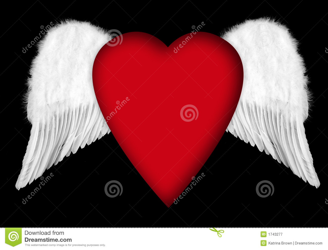 Cool Hearts With Angel Wings Angel wings with valentine