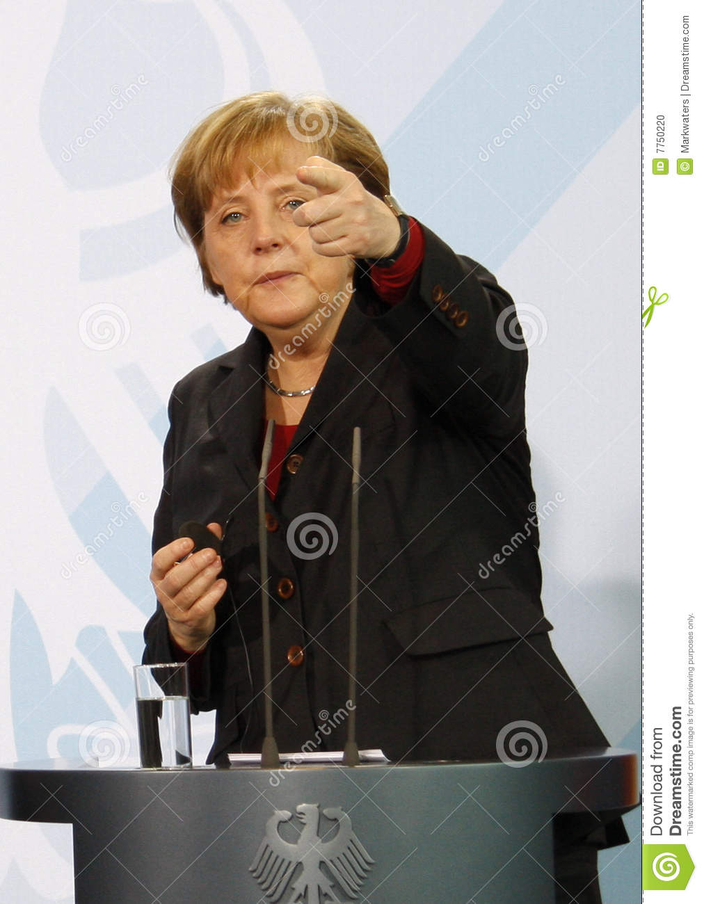 Angela chancelor niemiec merkel