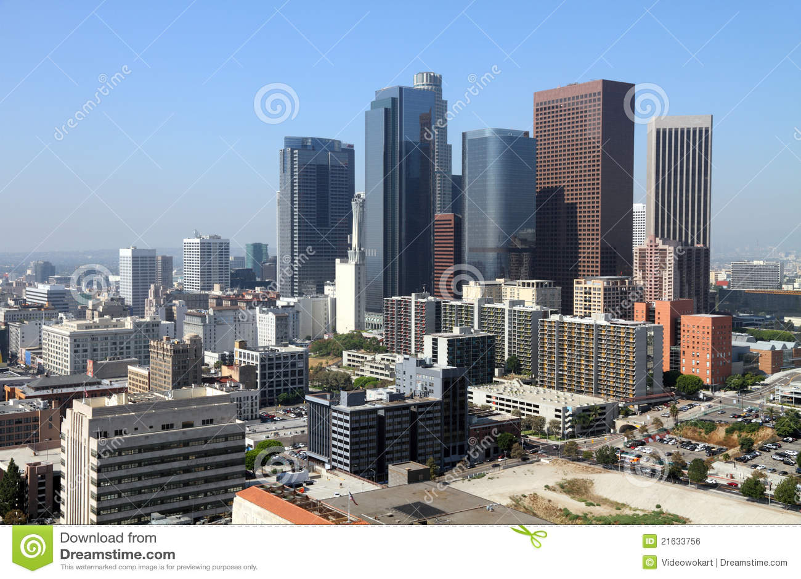 Angeles cityscape los