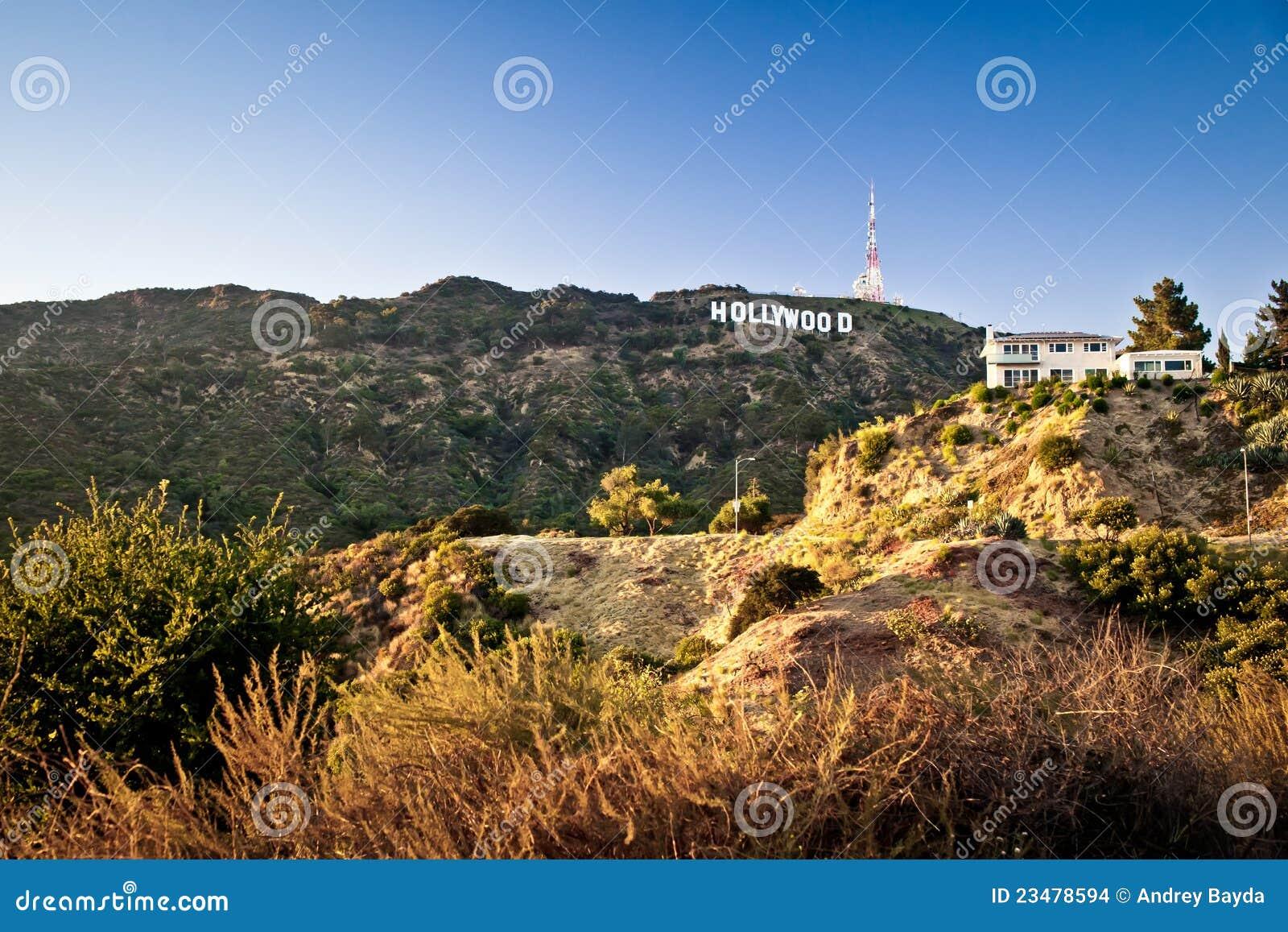 Angeles hollywood los teckensikt