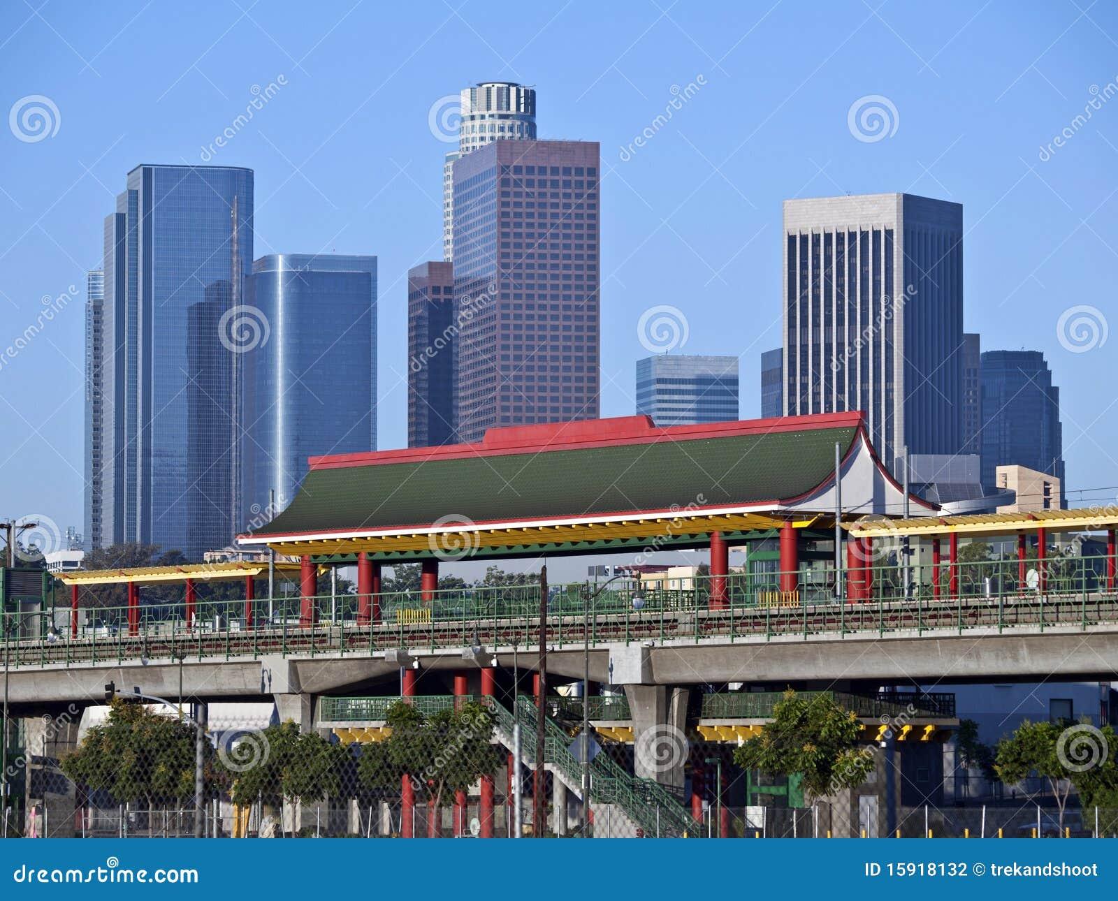 Angeles stacja Chinatown los