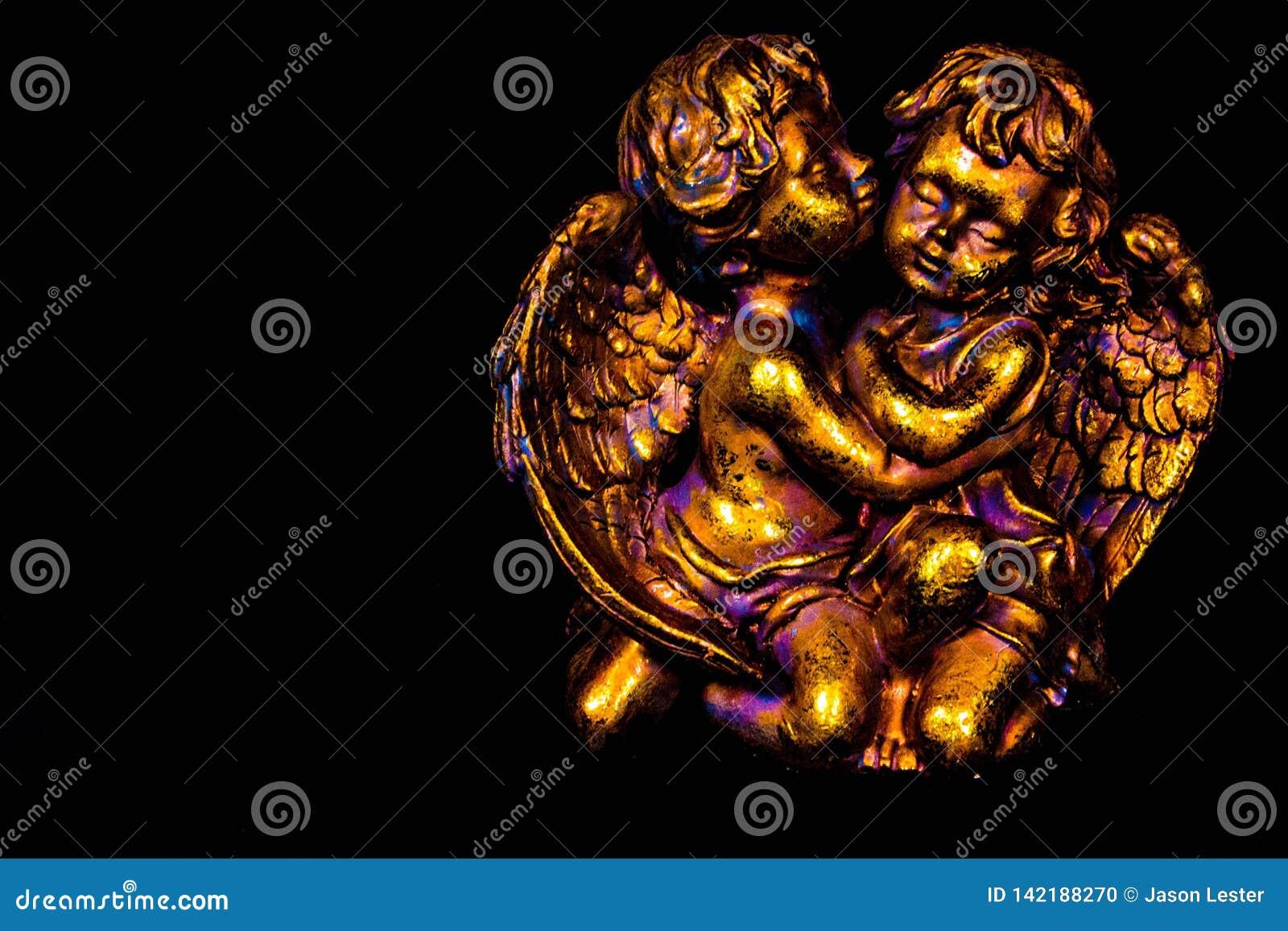 Angeli variopinti dell oro