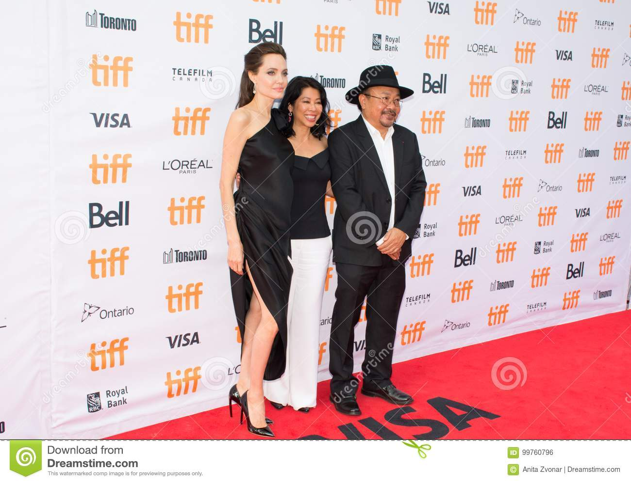 Angelina Jolie World Premiere of `First They Killed My Father` at Toronto International Film Festival