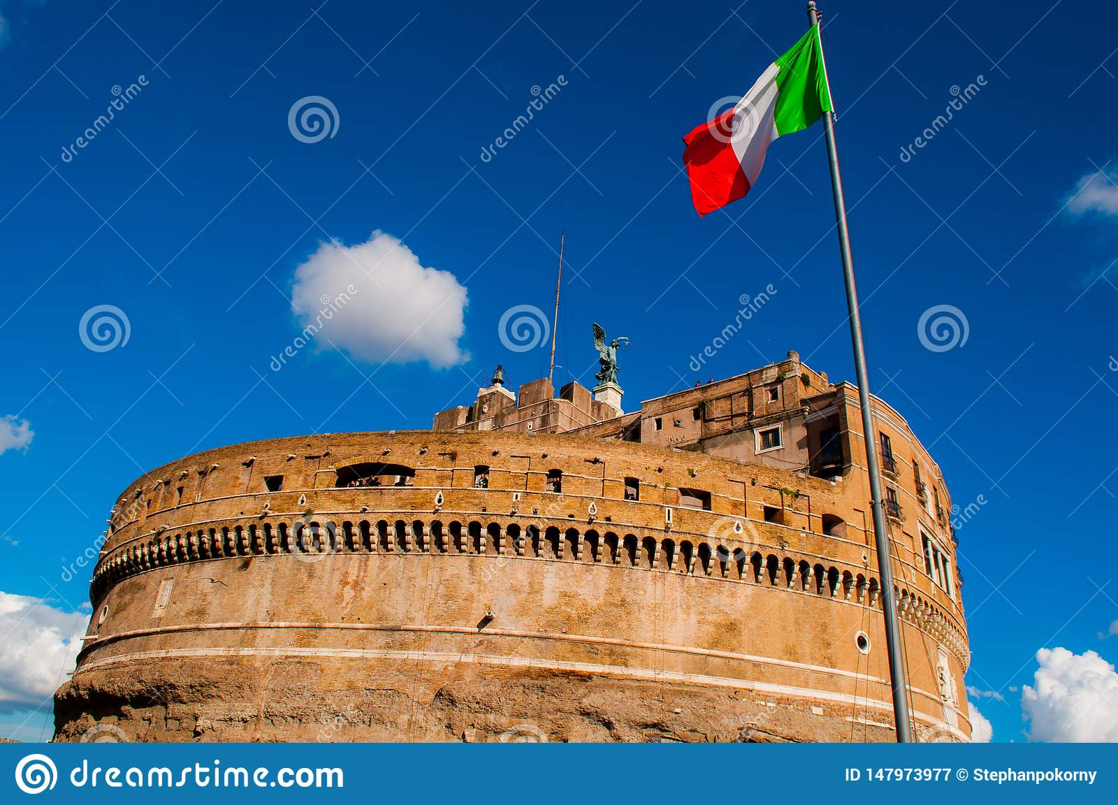 Angelo-Schloss in Rom Italien