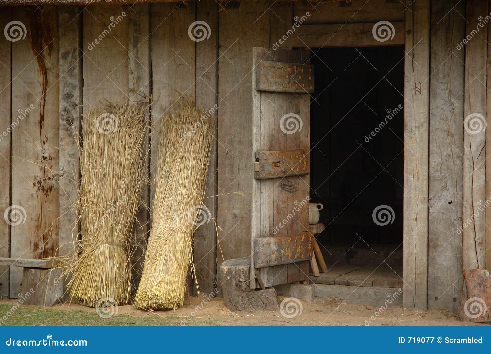 Angelsächsische Tür