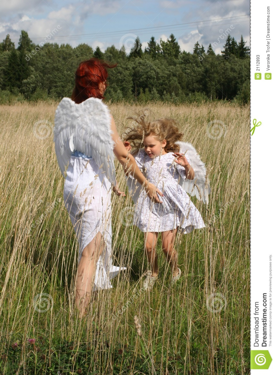 Angels Mother And Child Stock Photos Image 2112893