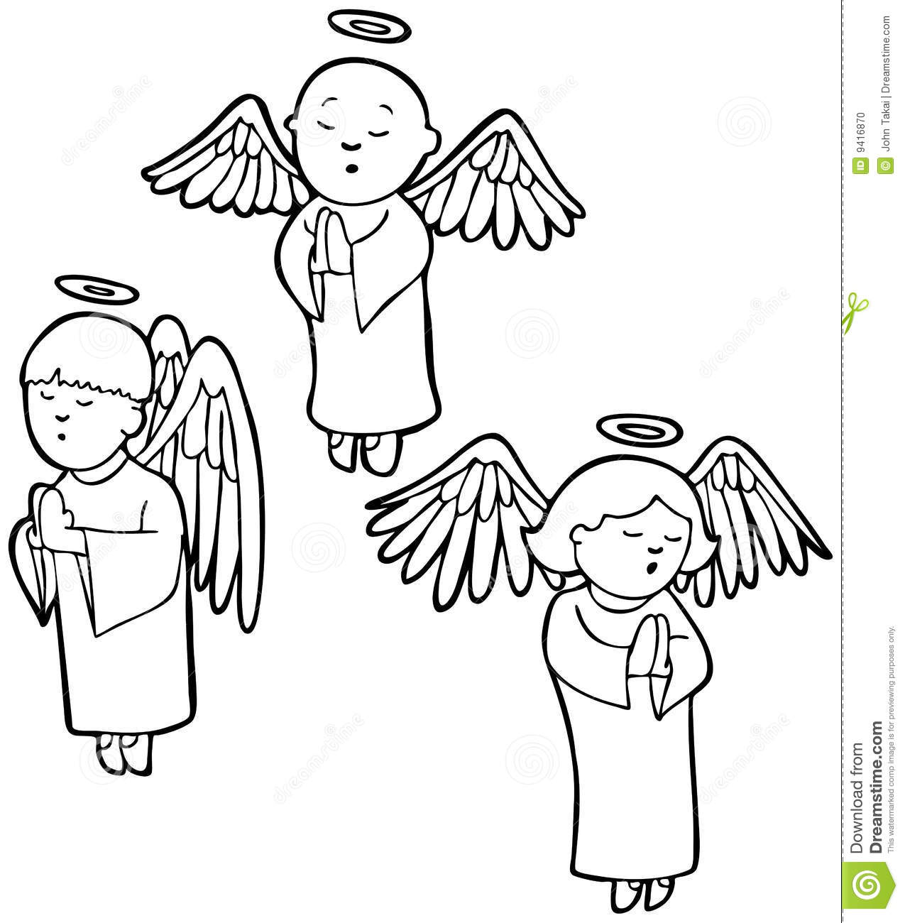 angels praying black and white stock vector illustration of rh dreamstime com angel clip art black and white silhouette christmas angel clipart black and white