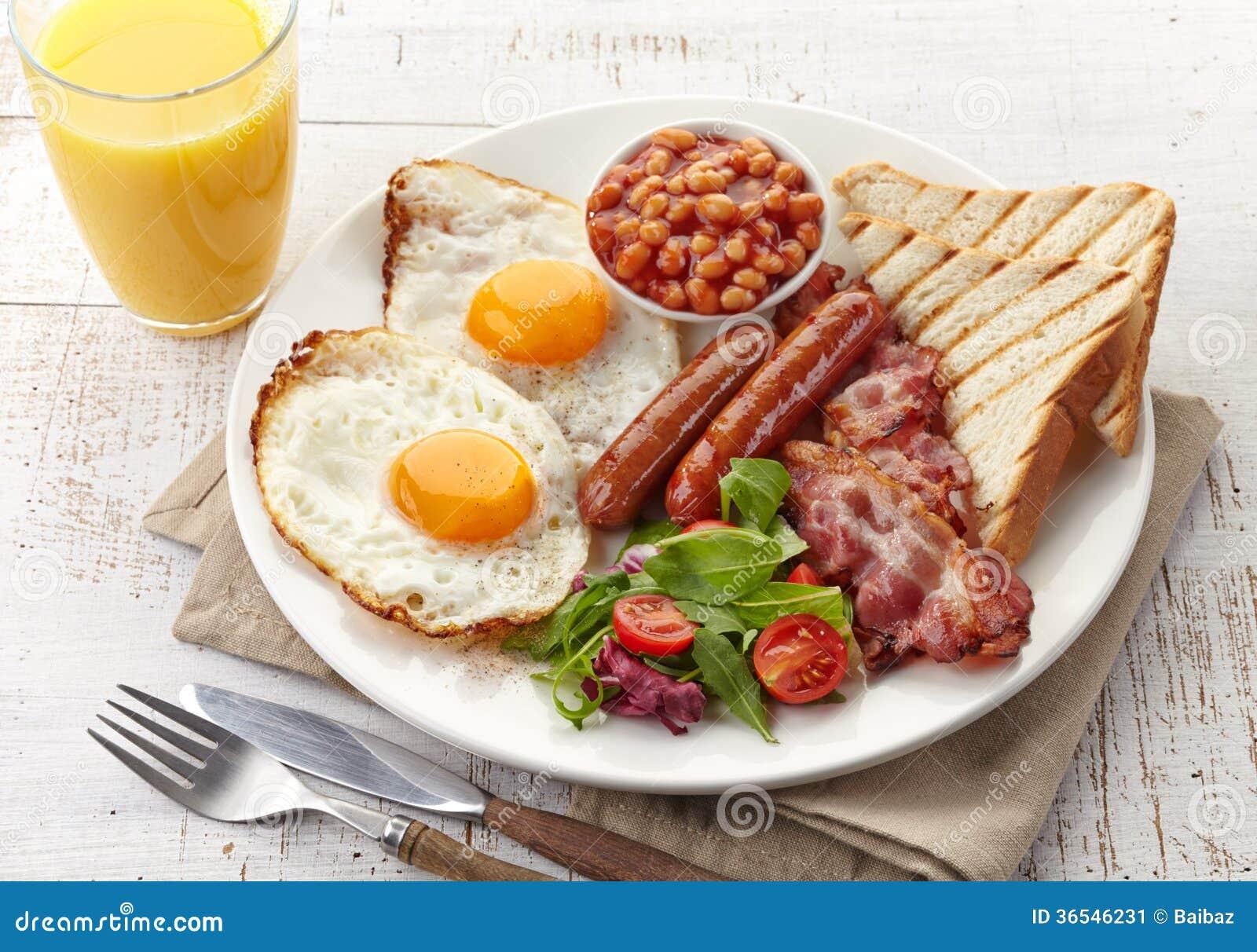 Angielski śniadanie