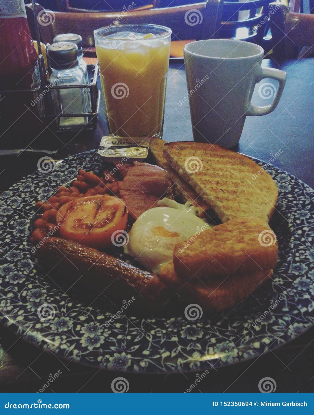 Angielski śniadanie w firestation więcej niż wyśmienicie