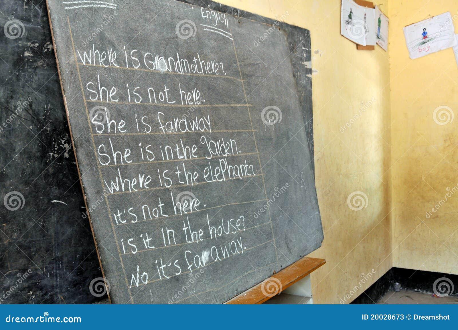 Angielski uczenie