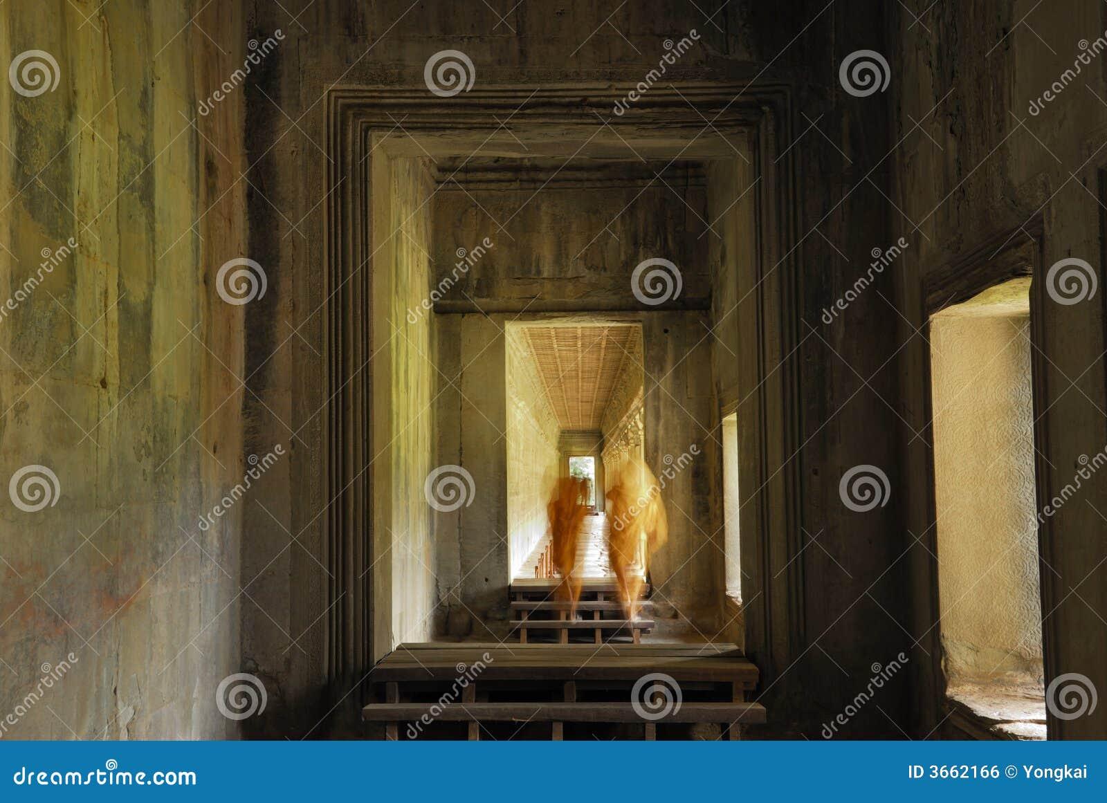 Angkor修士寺庙wat