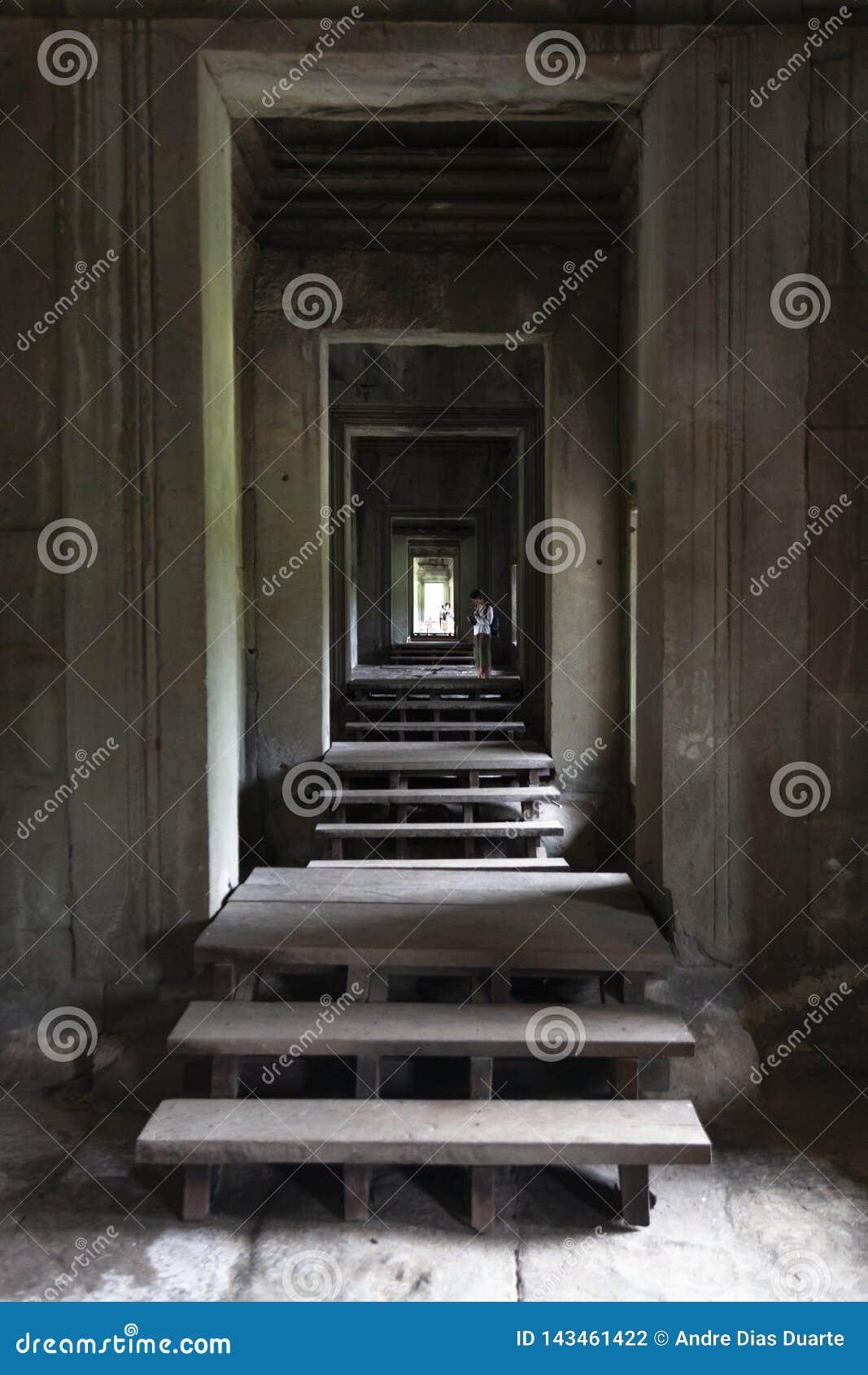 Angkor interno Wat