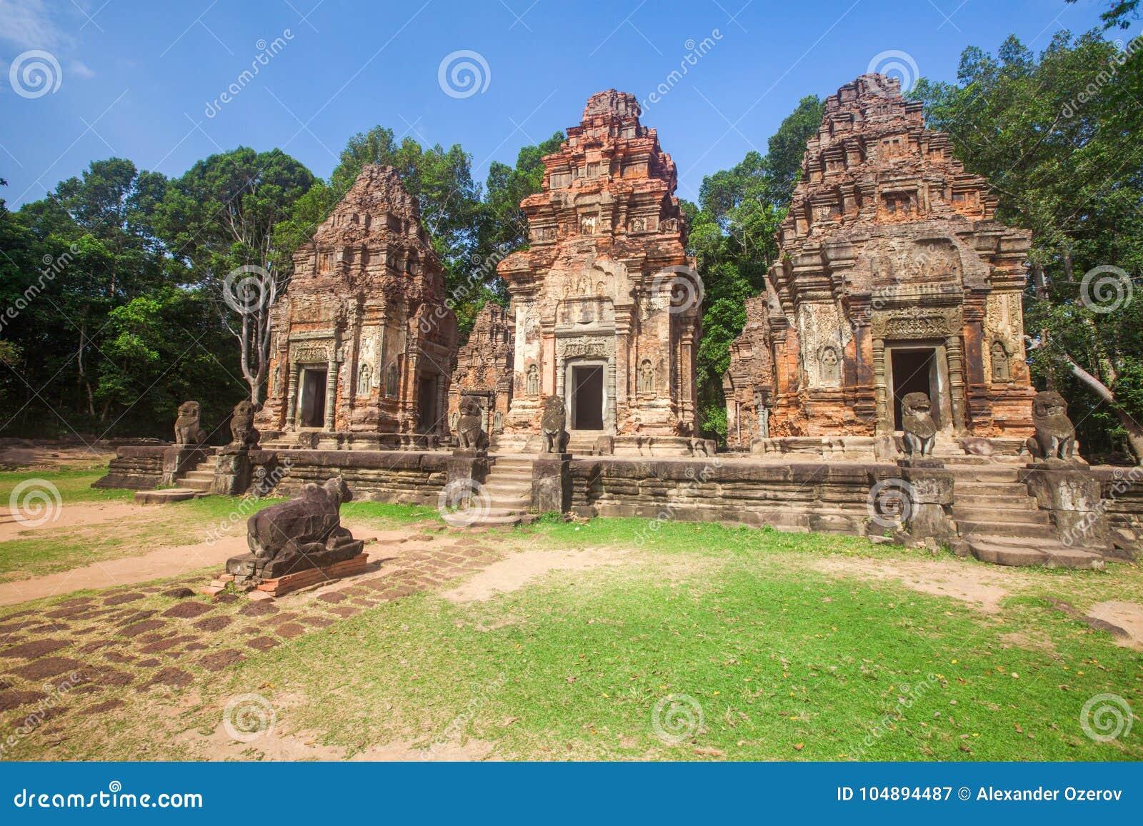 Angkor ko preah świątynia