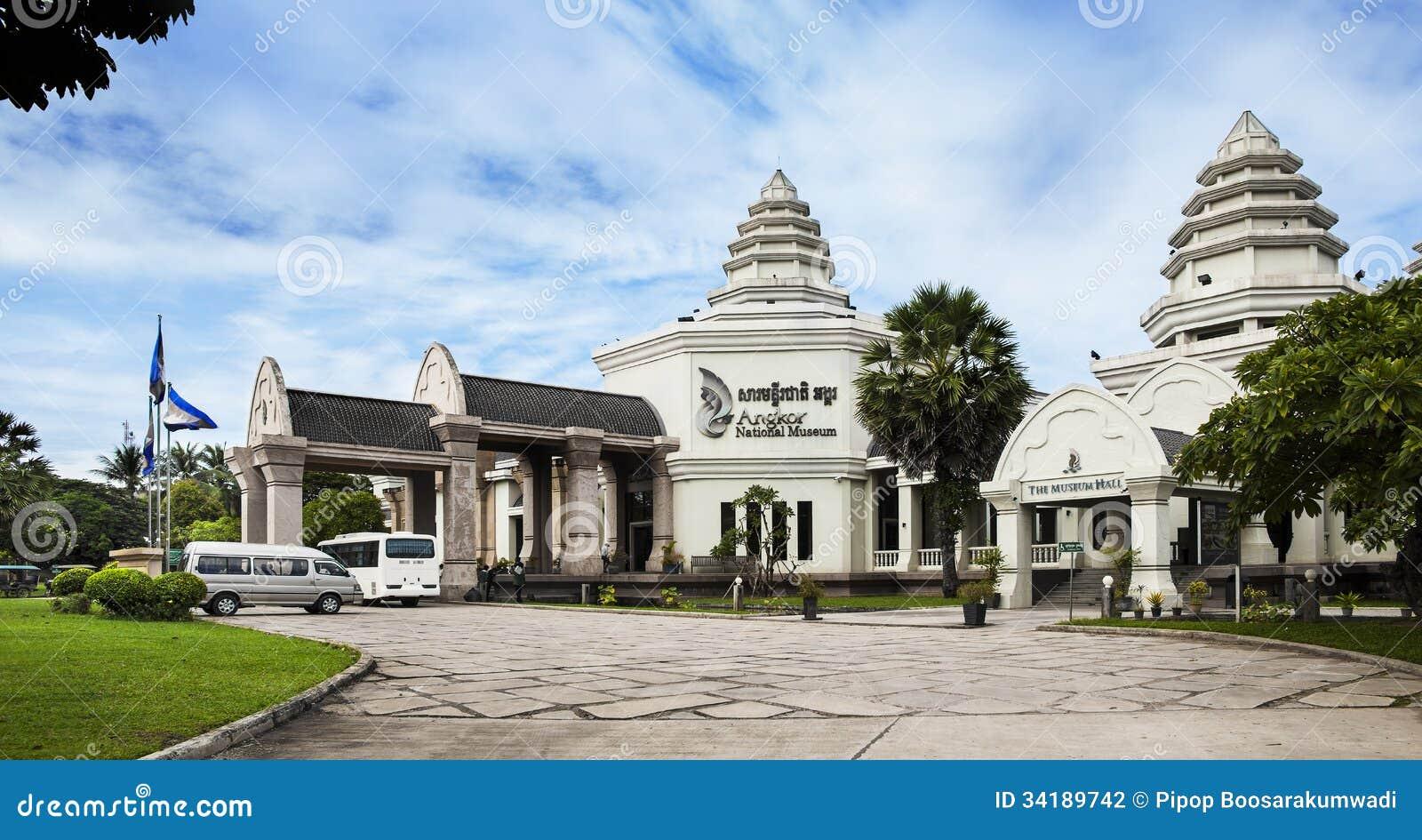 Angkor National Museum, Siem Reap, Cambodia. Stock ...