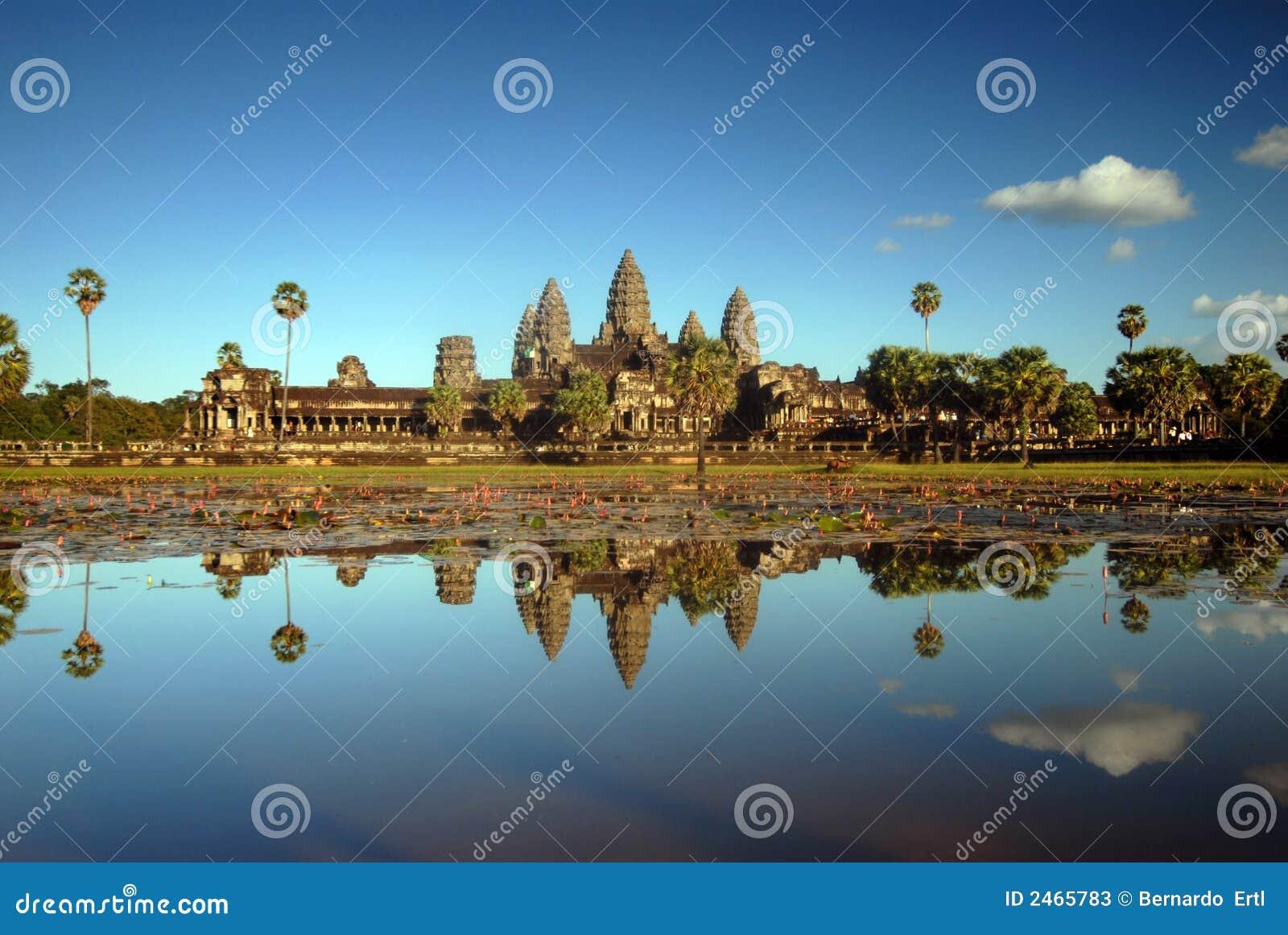 Angkor popołudniowy wat światła
