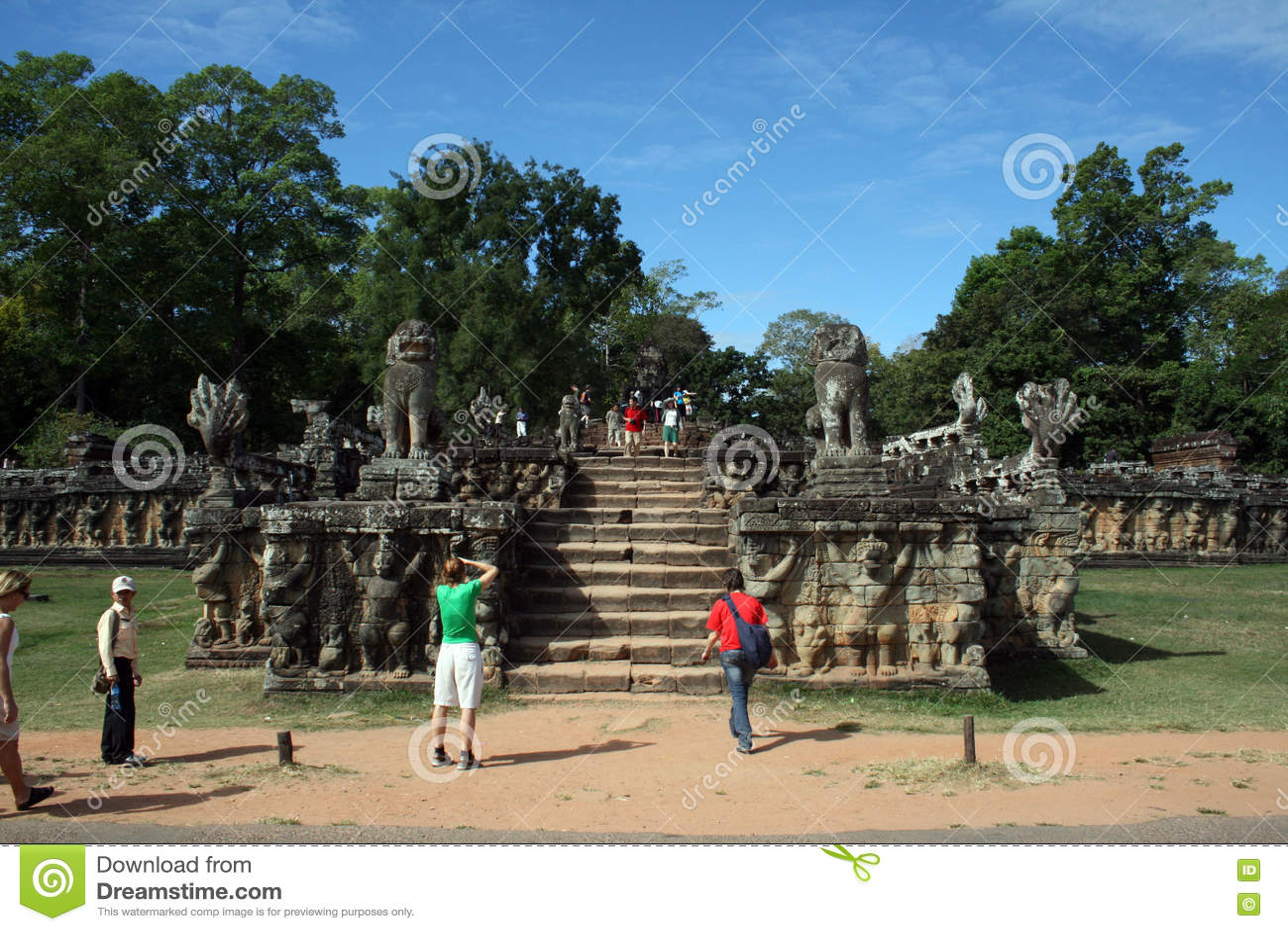 Angkor terrass