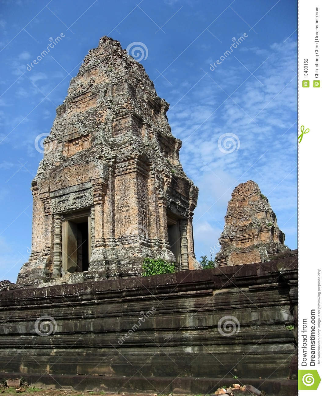 Angkor wat architecture stock photography image 13483152 for Wat architecture