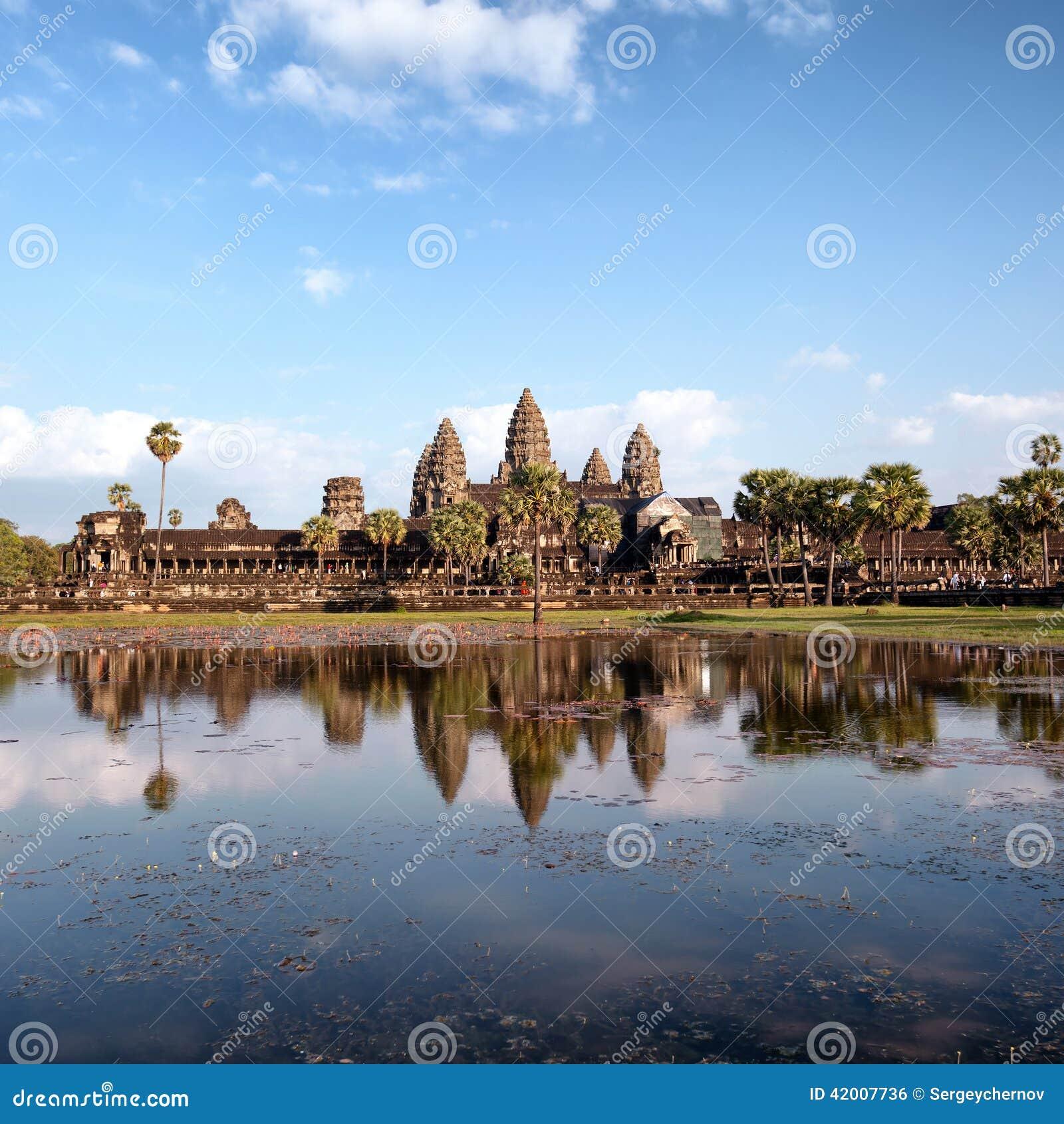 Angkor Wat Cambodia Templo do khmer de Angkor Thom