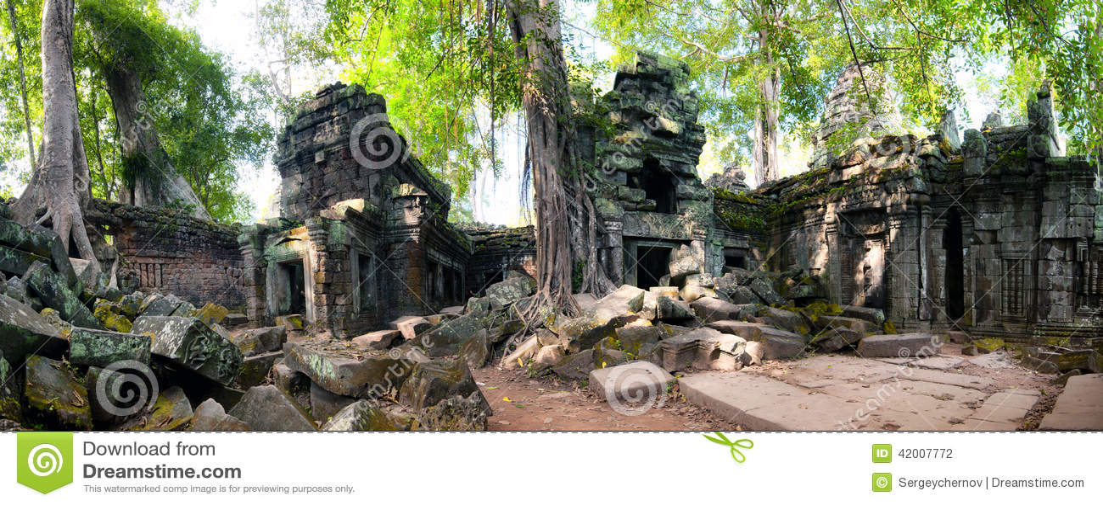 Angkor Wat Kambodja De Khmer oude Boeddhistische tempel van Ta Prom