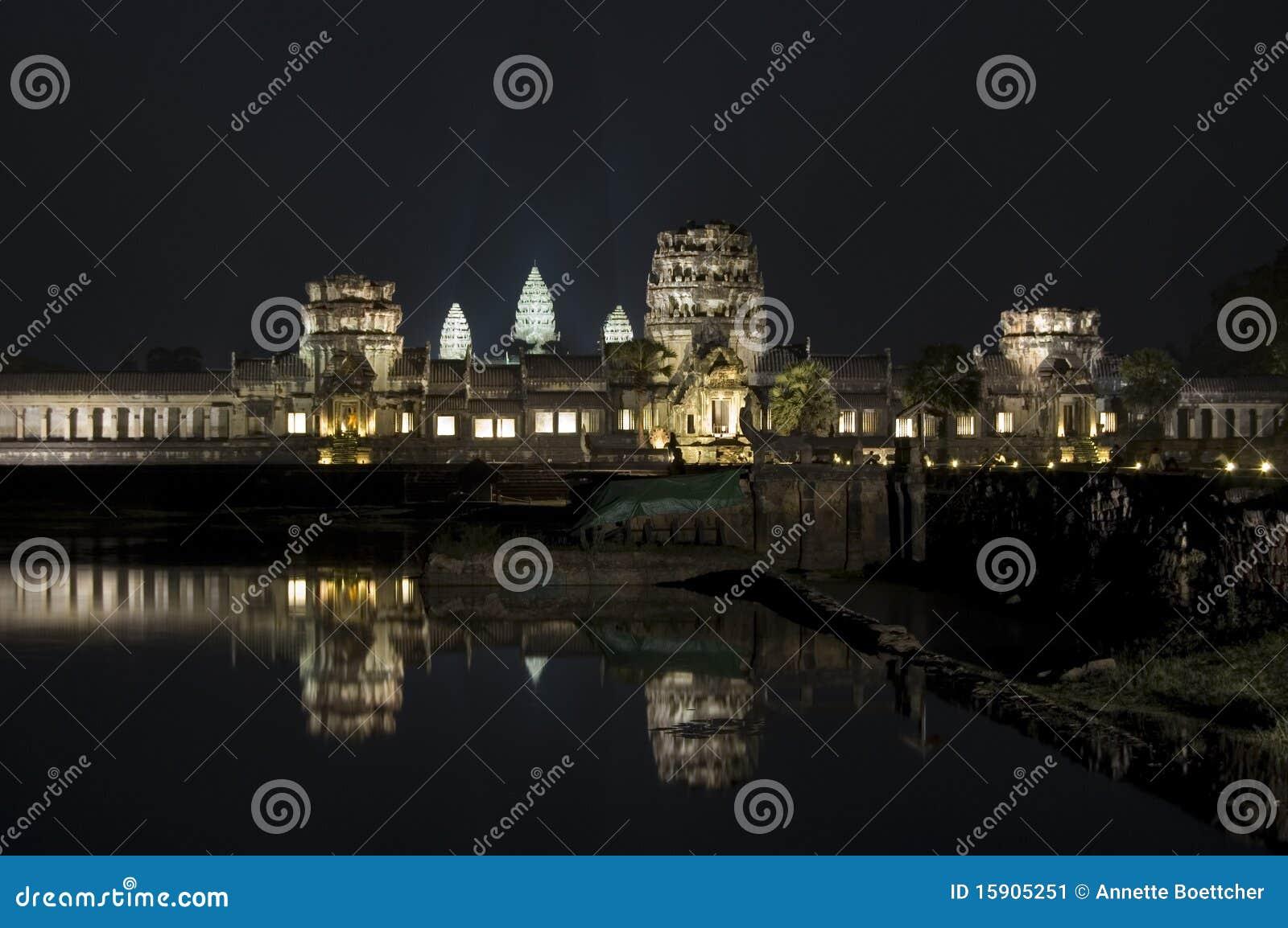 Angkor Wat nachts