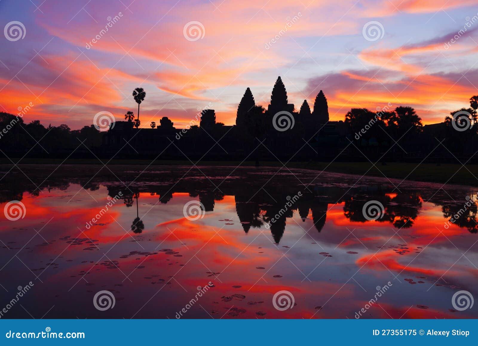 Angkor Wat Sonnenaufgang