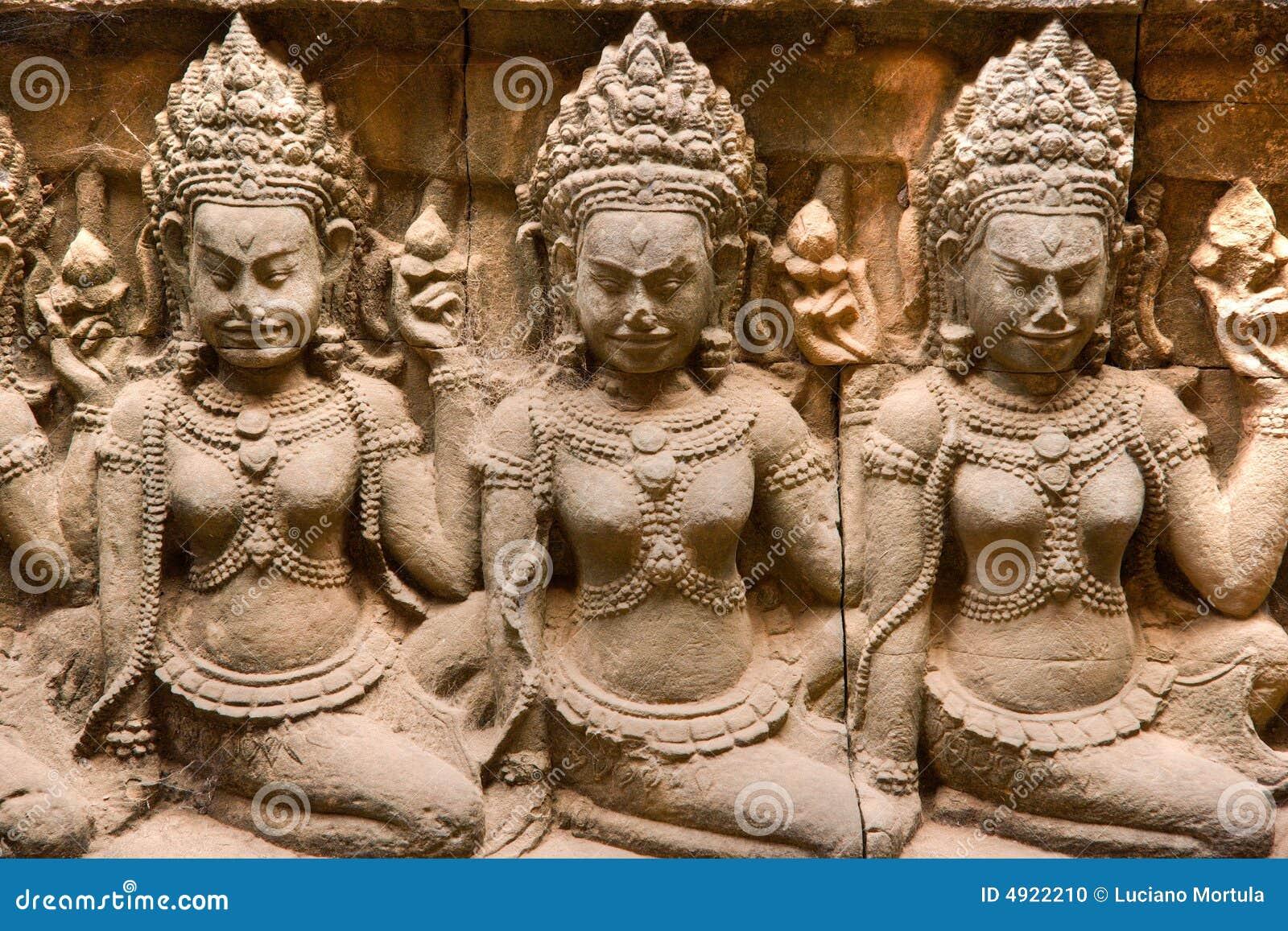 Angkorapsaracambodia thom