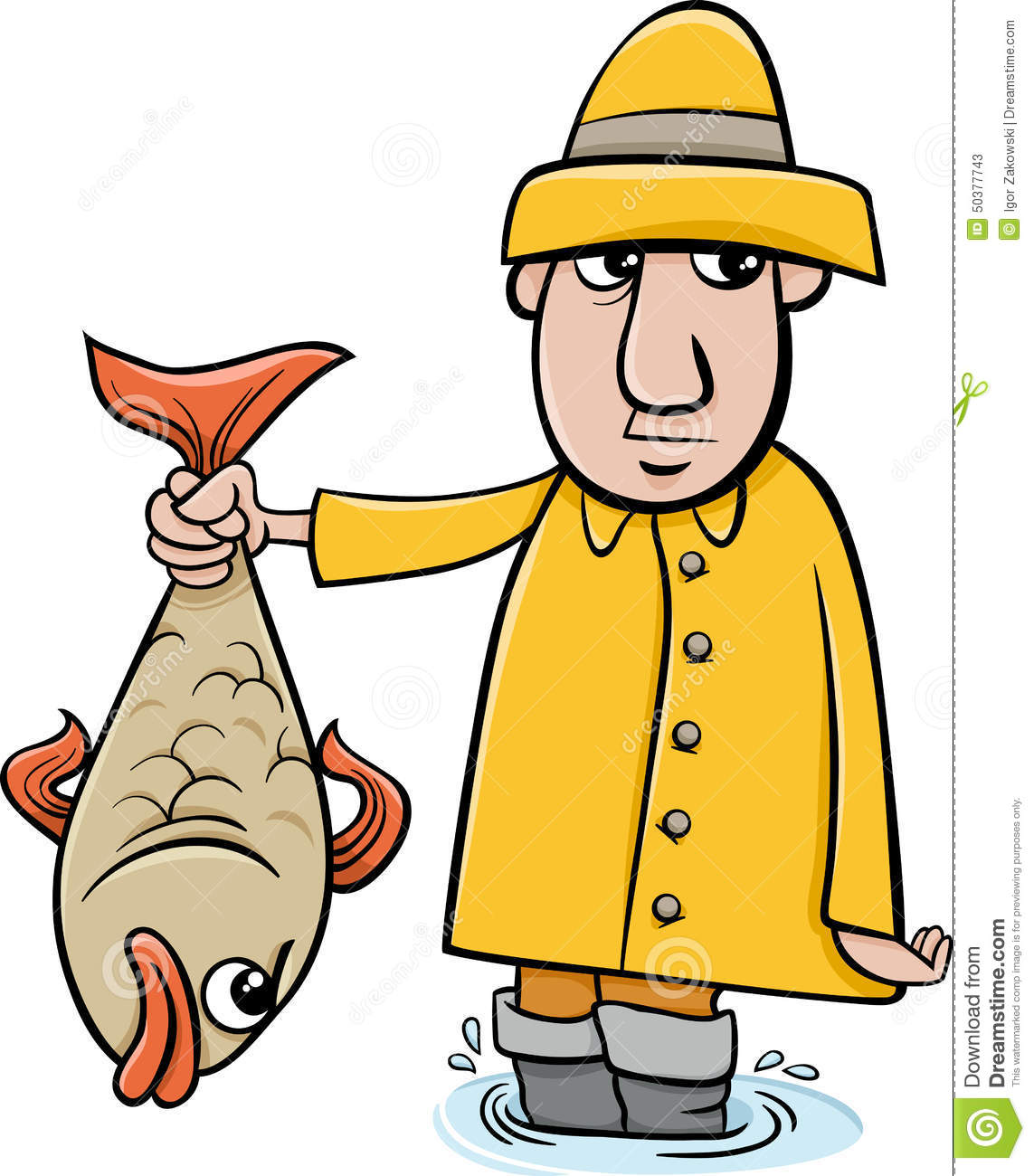 angler cartoon
