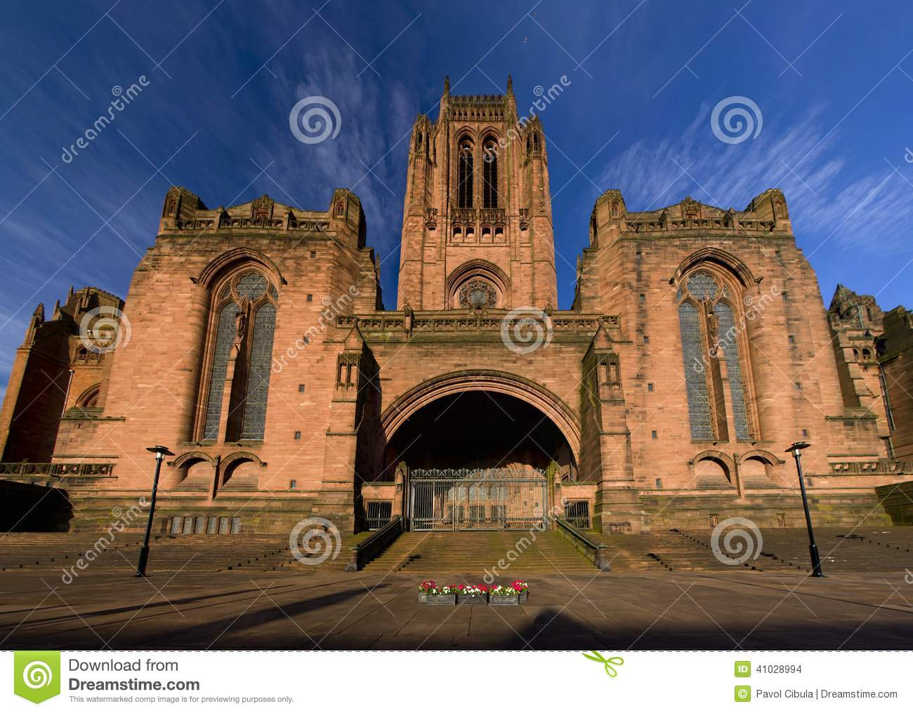 Anglican Cathedral in Liverpool, UK.