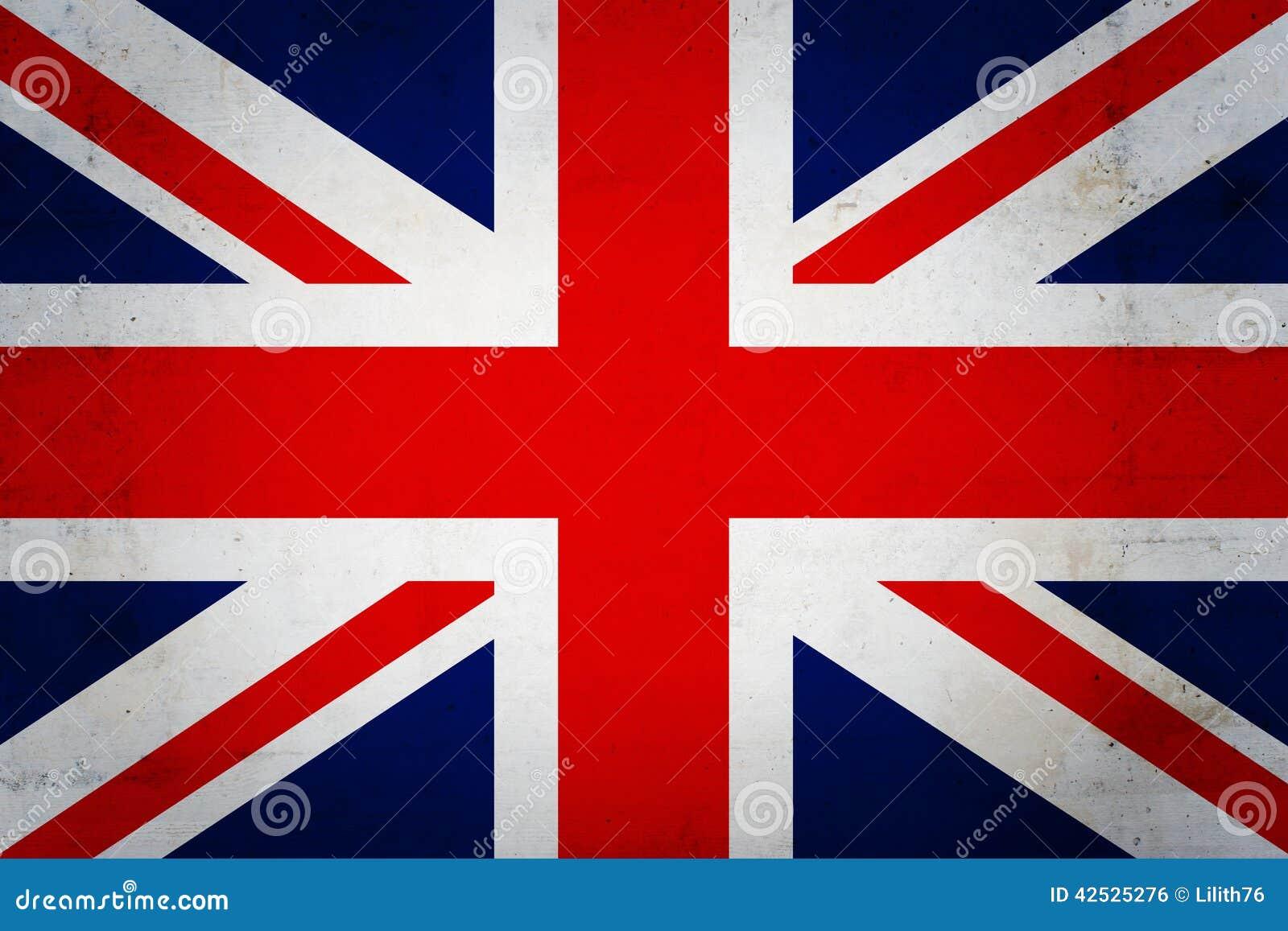 Anglik flagę