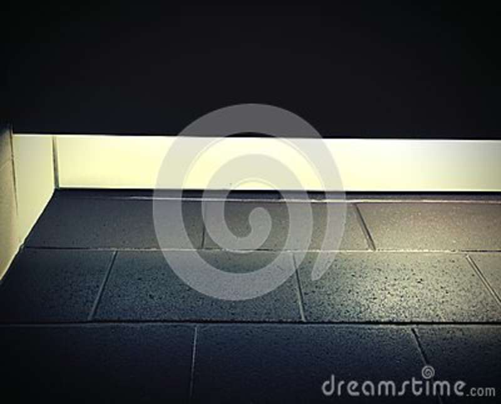 Angolo astratto delle piastrelle per pavimento immagine stock