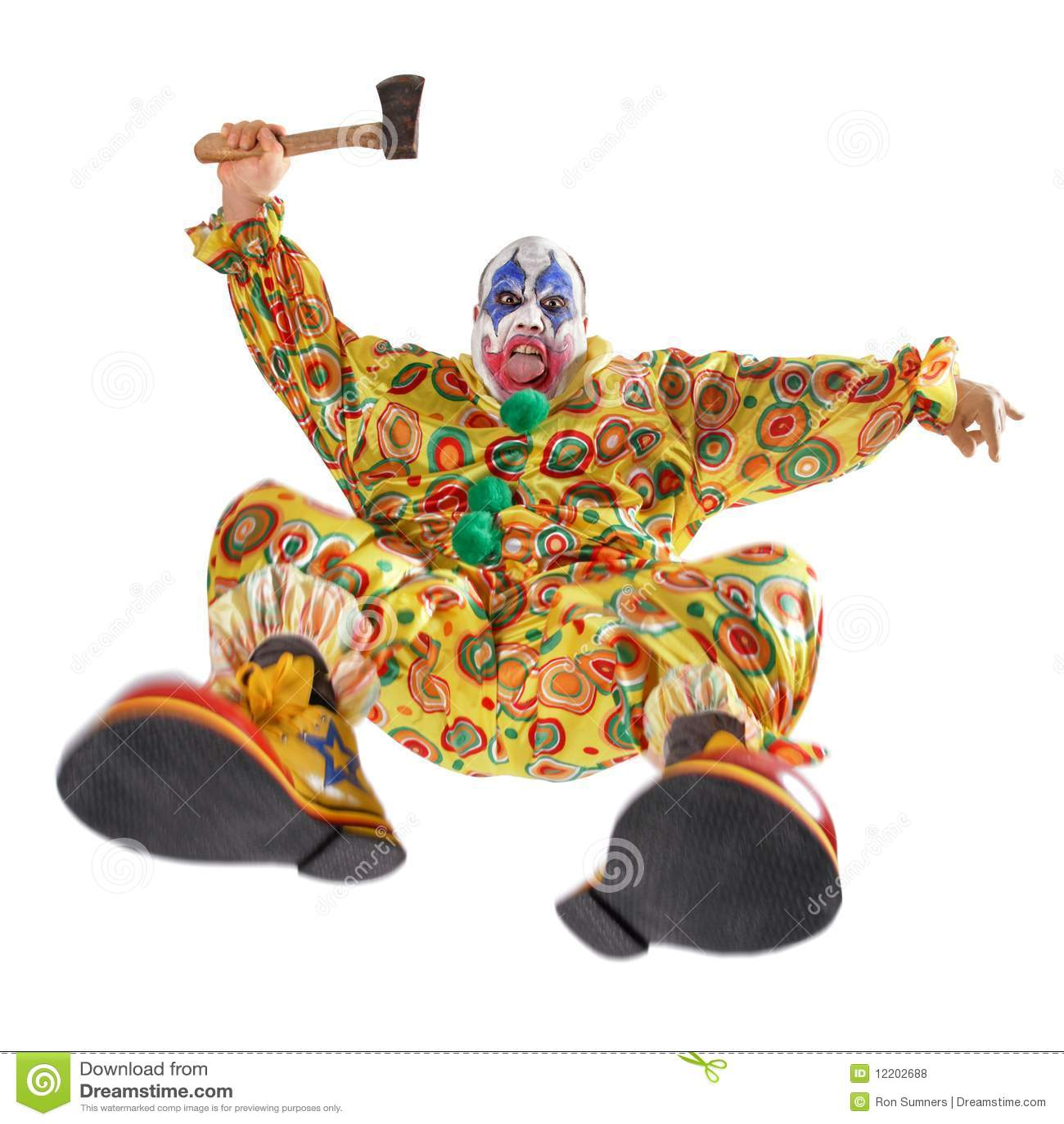 Angriff des schlechten Clowns