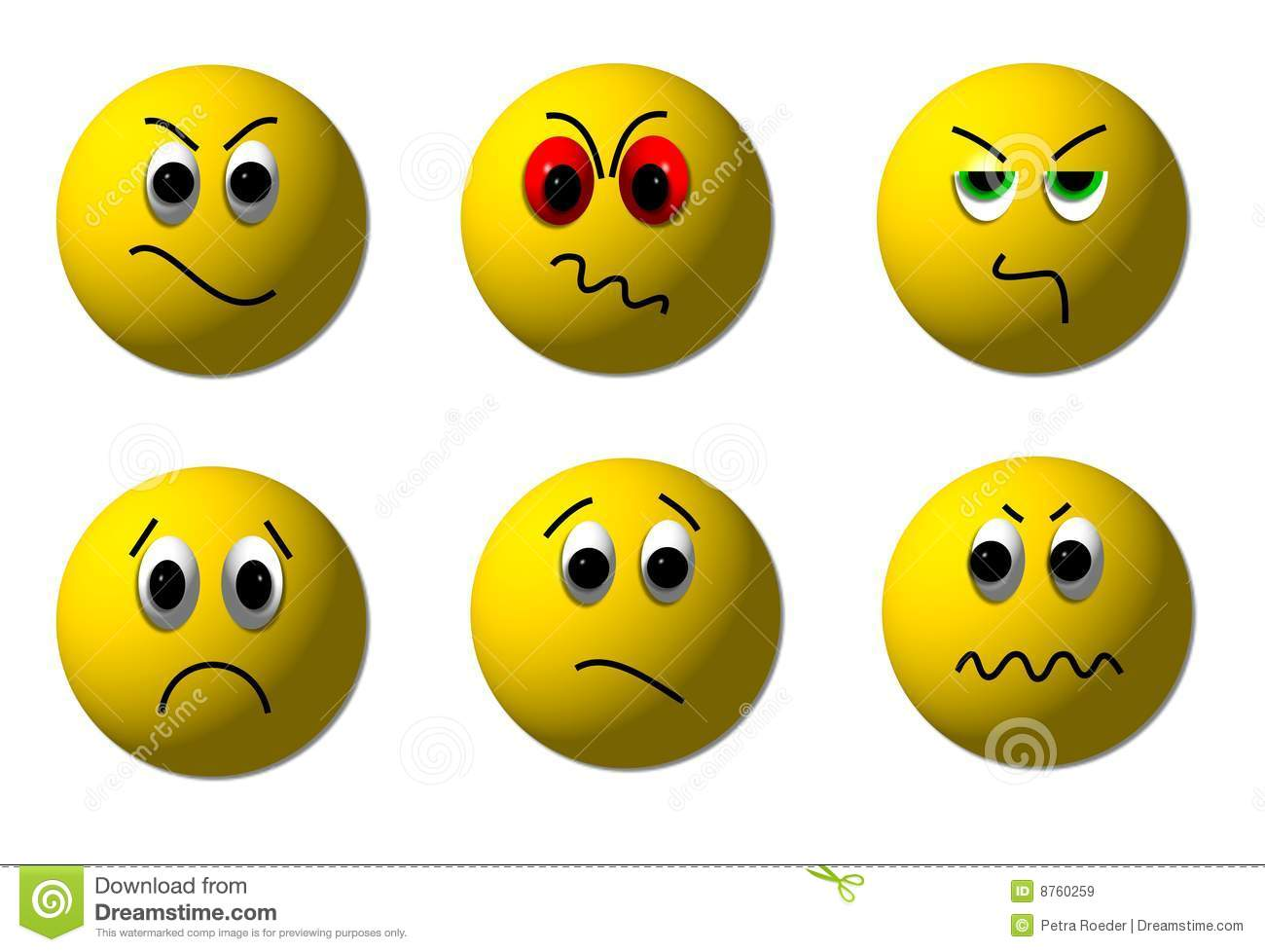 angry 3d smileys stock illustration. illustration of people - 8760259