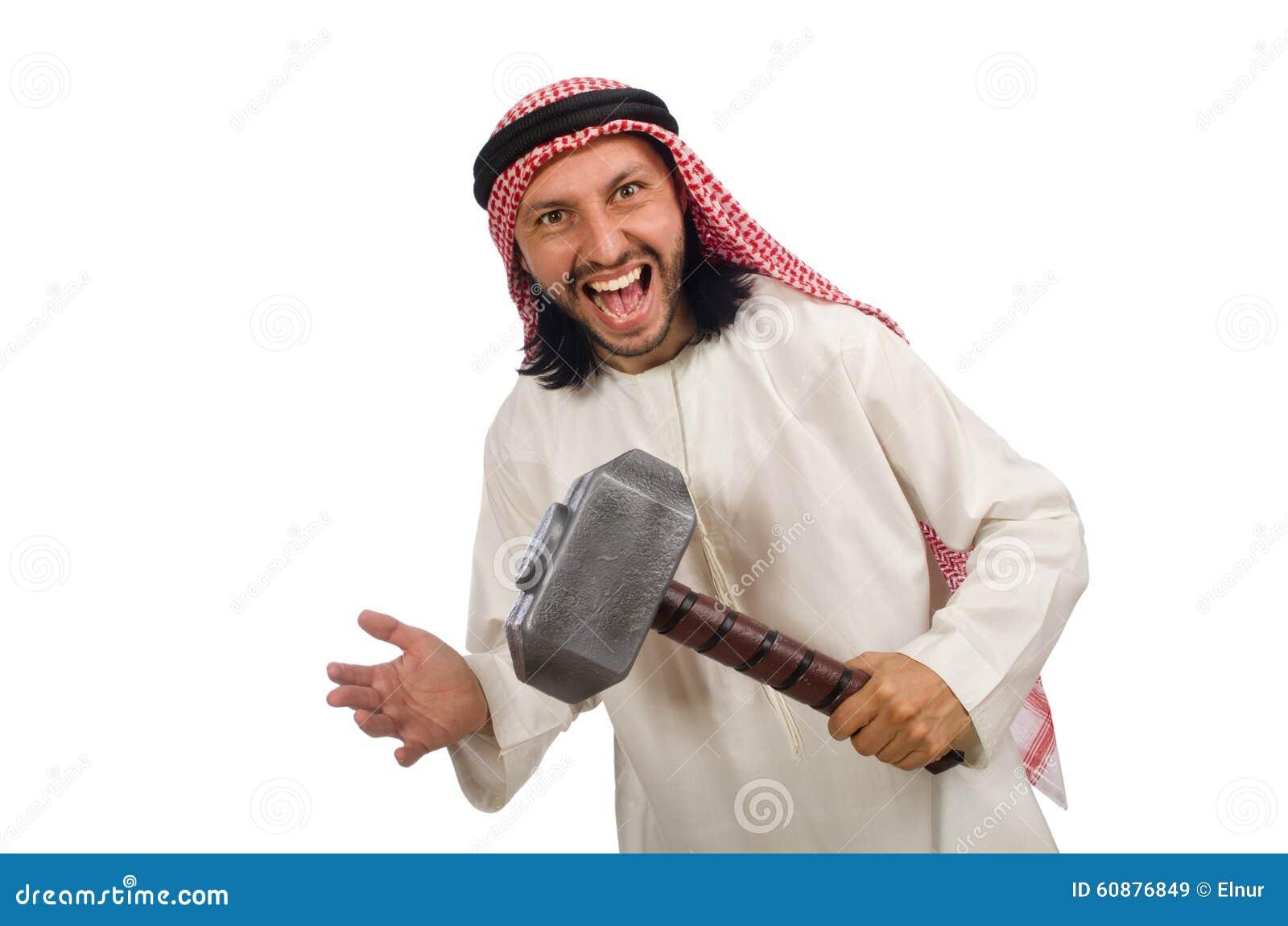 Arab guy white no money no problem 5