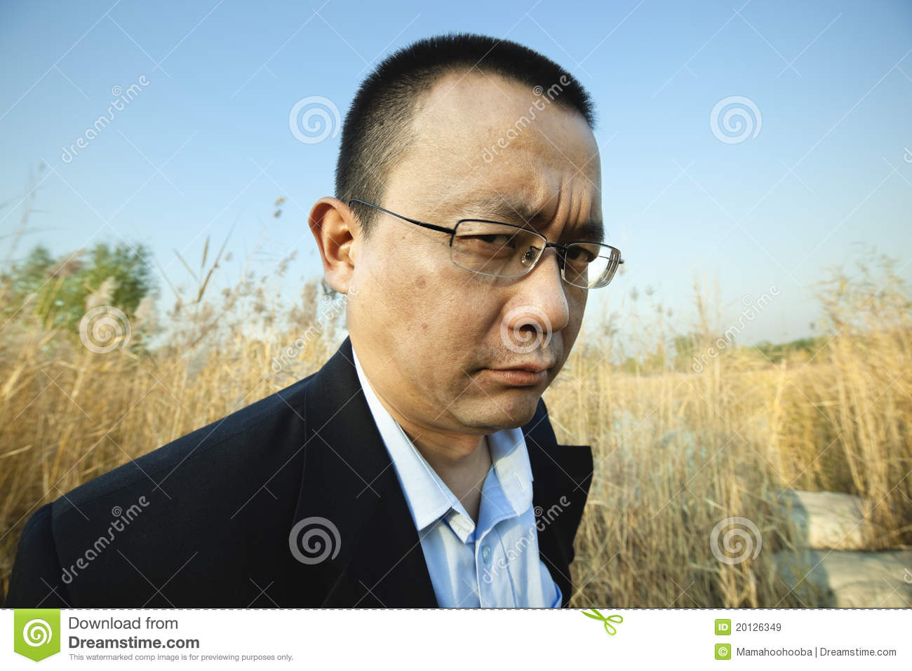 Angry asian man dating