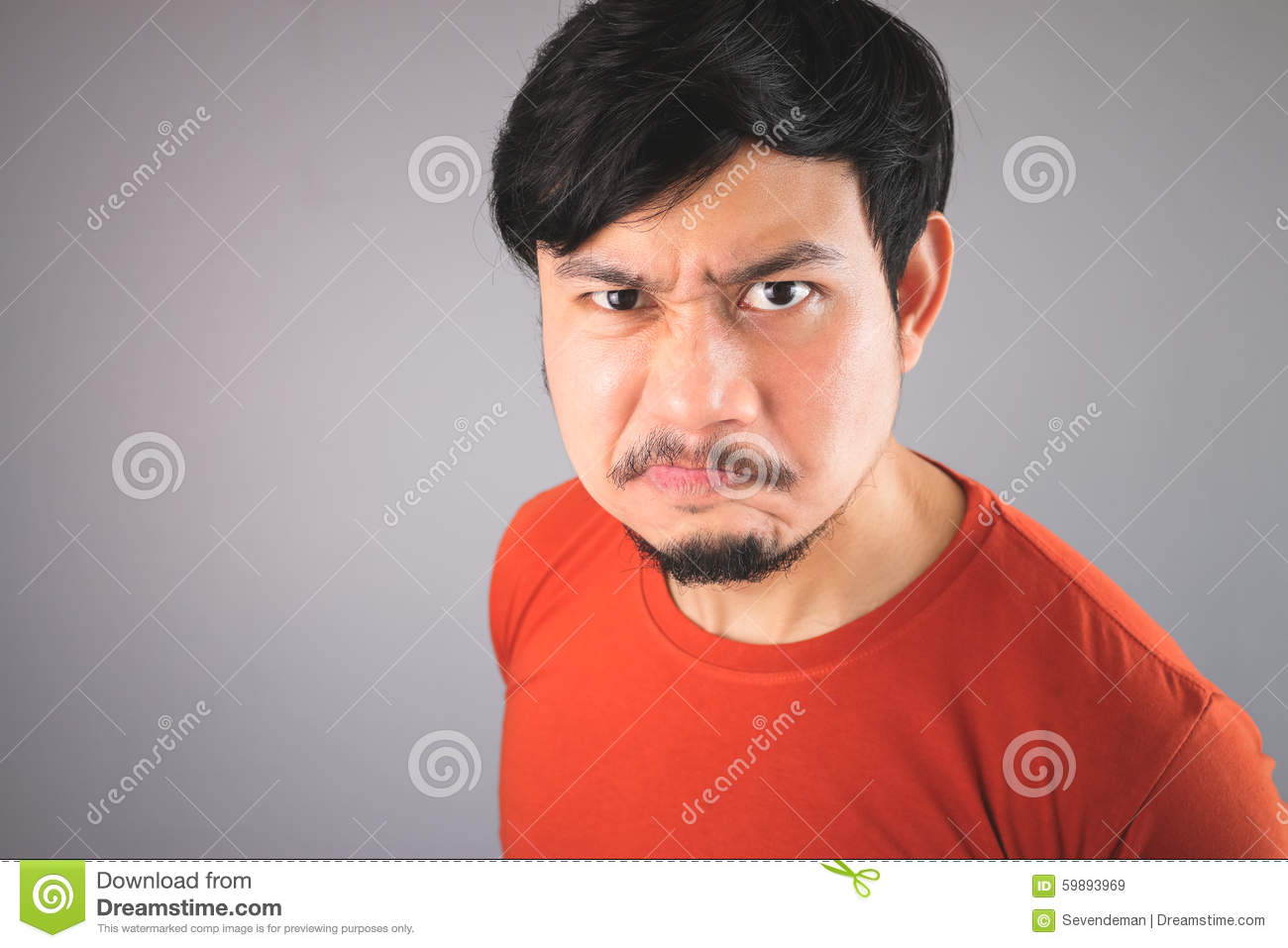 angry asian face - photo #7