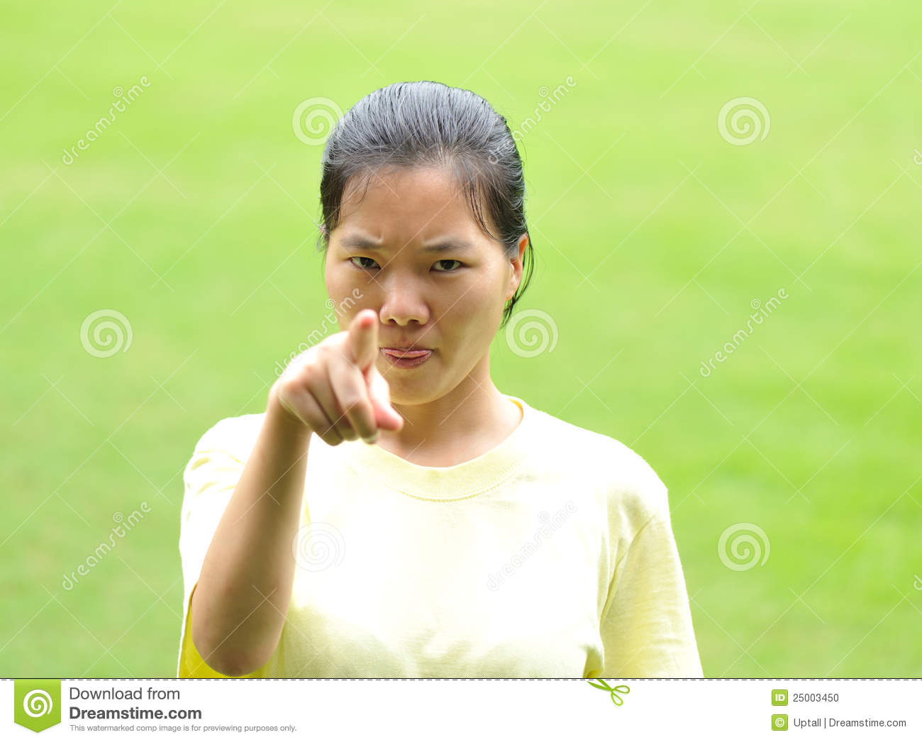 Stock Photo Angry Asian Woman Image 25003450