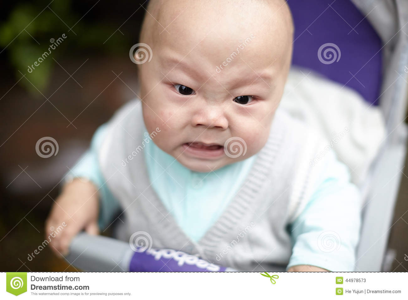 Angry Baby Stock Photo - Image: 44978573
