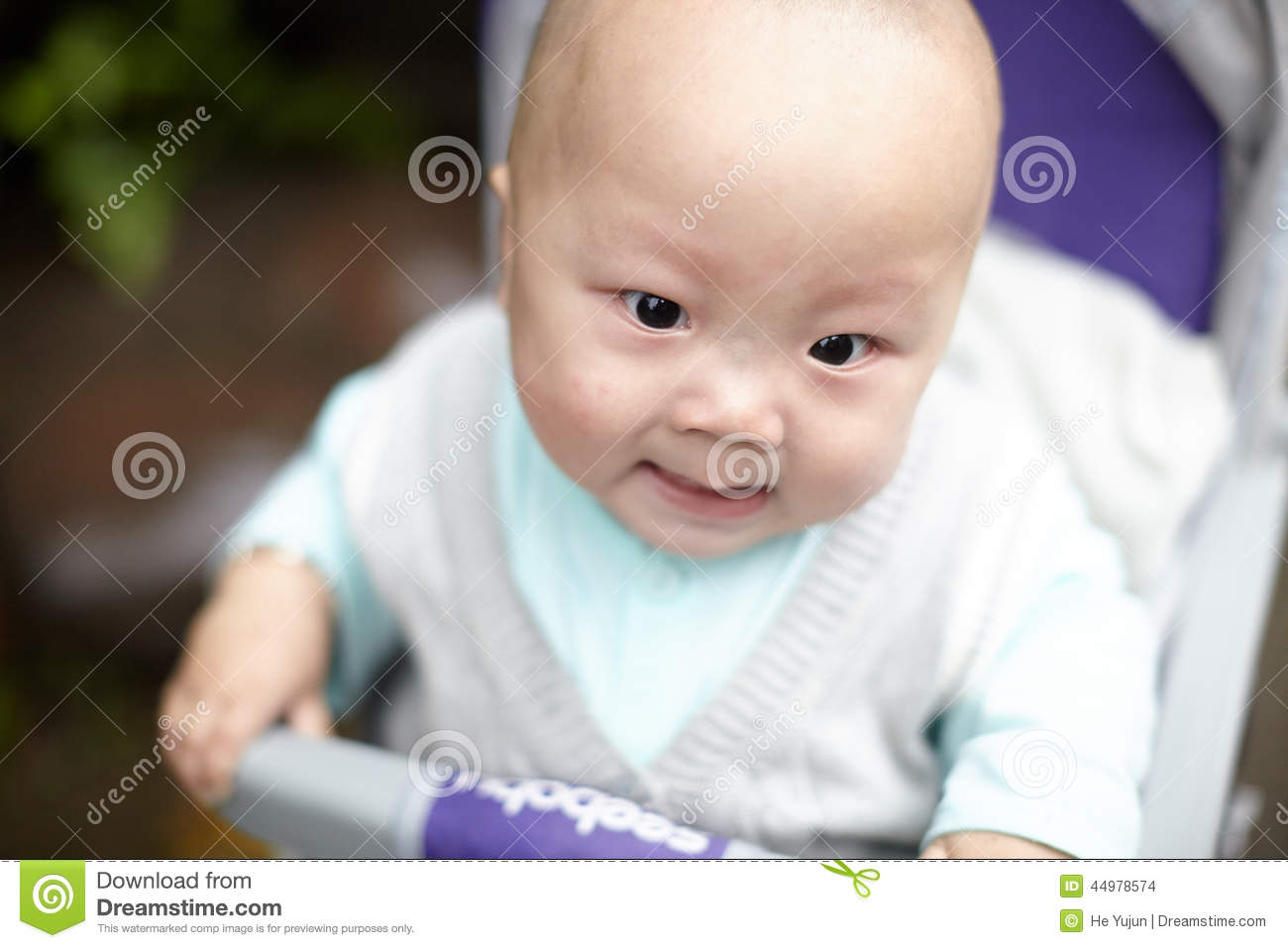 Angry Baby Stock Photo - Image: 44978574