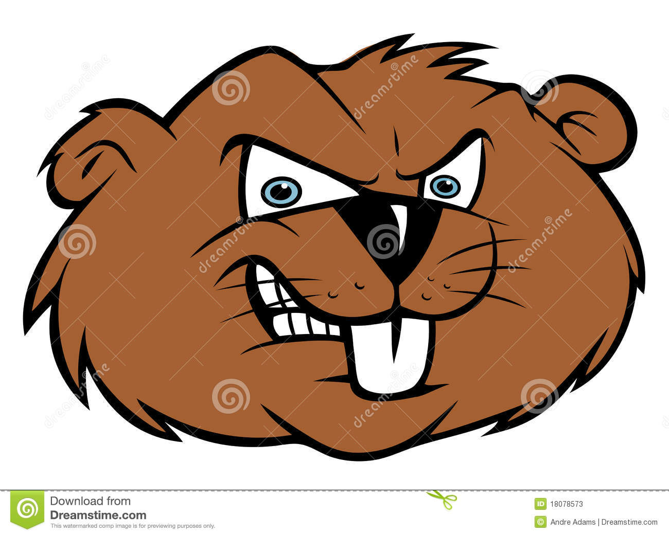 Angry Beaver Stock Photos - Image: 18078573